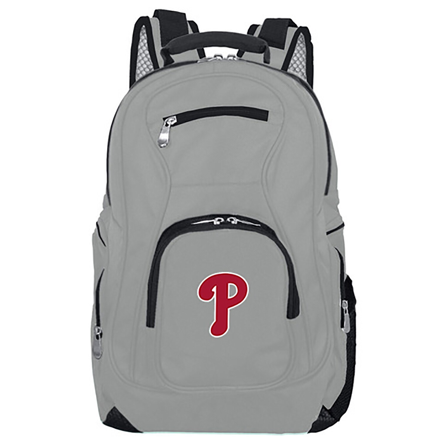 Philadelphia Phillies Backpack Laptop - Gray