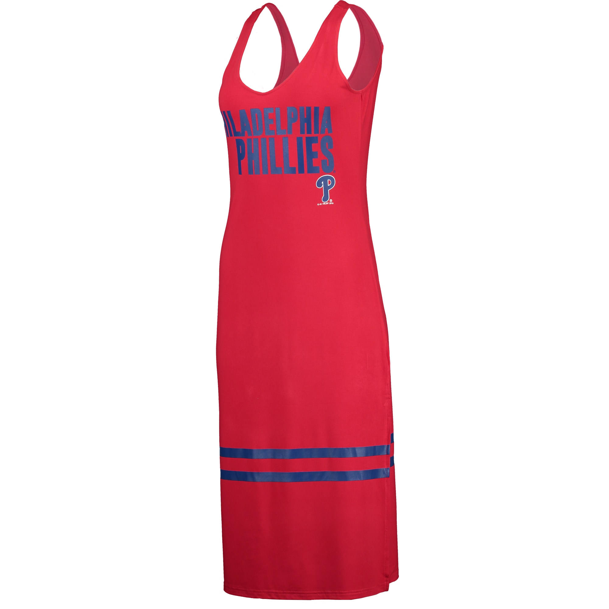 Philadelphia Phillies G-III 4Her by Carl Banks Women's Opening Day Maxi Dress - Red