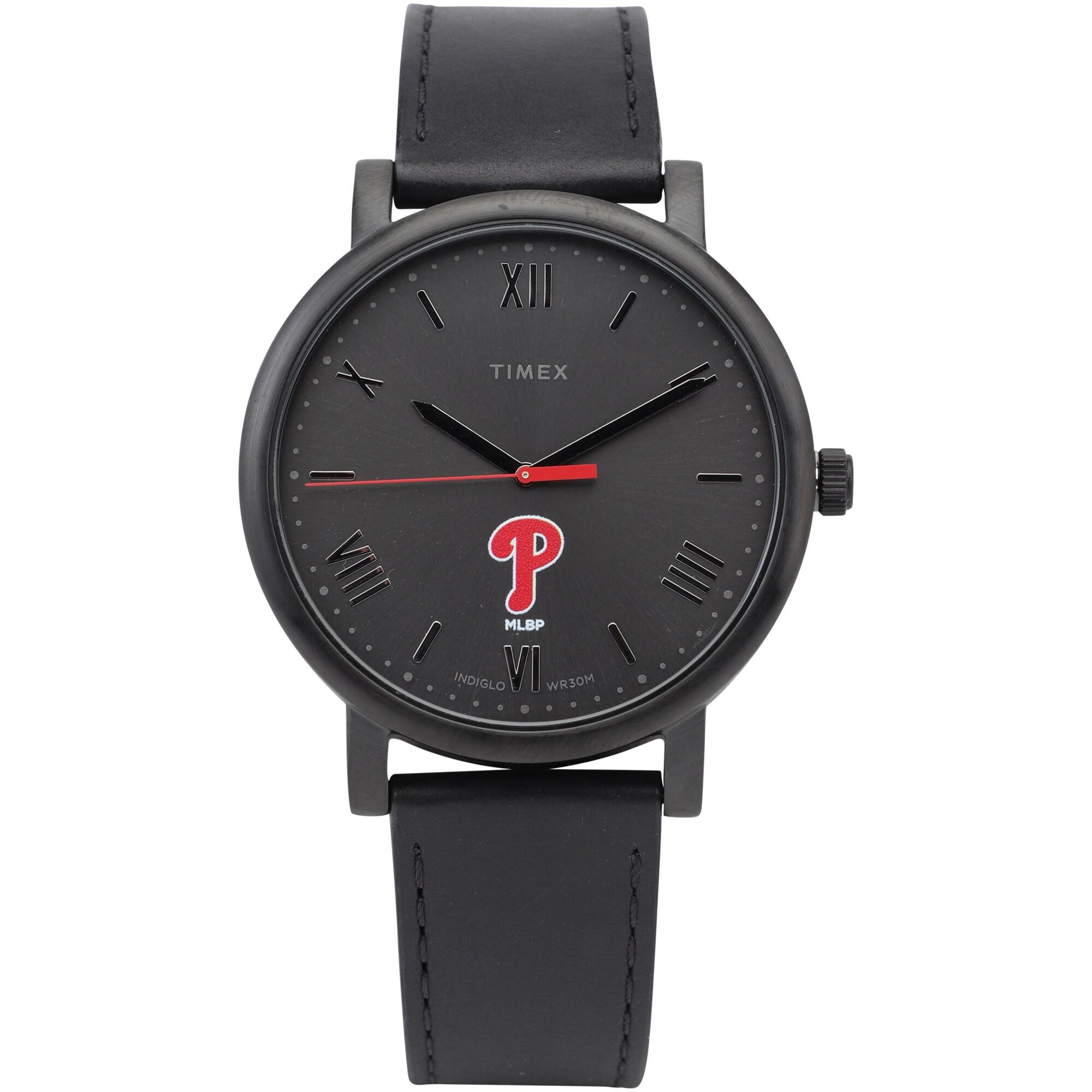 Philadelphia Phillies Timex Women's Night Game Watch