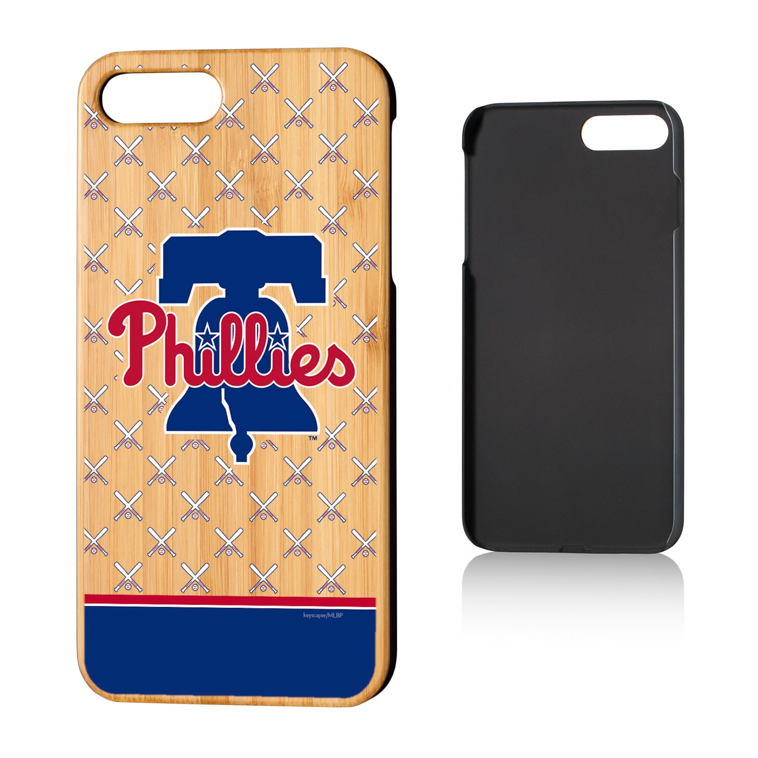 Philadelphia Phillies iPhone 7 Plus/8 Plus Team Stripe Bamboo Case