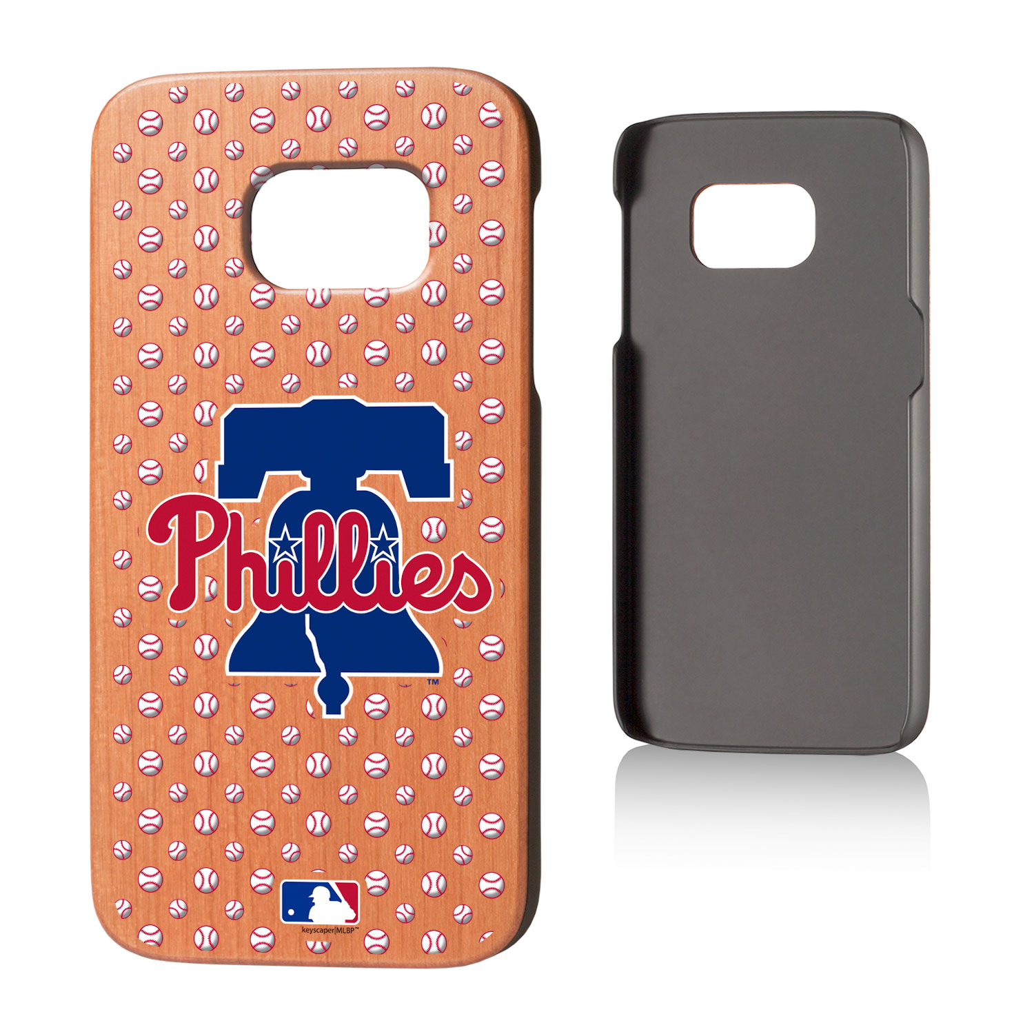 Philadelphia Phillies Galaxy S7 Cherry Wood Case