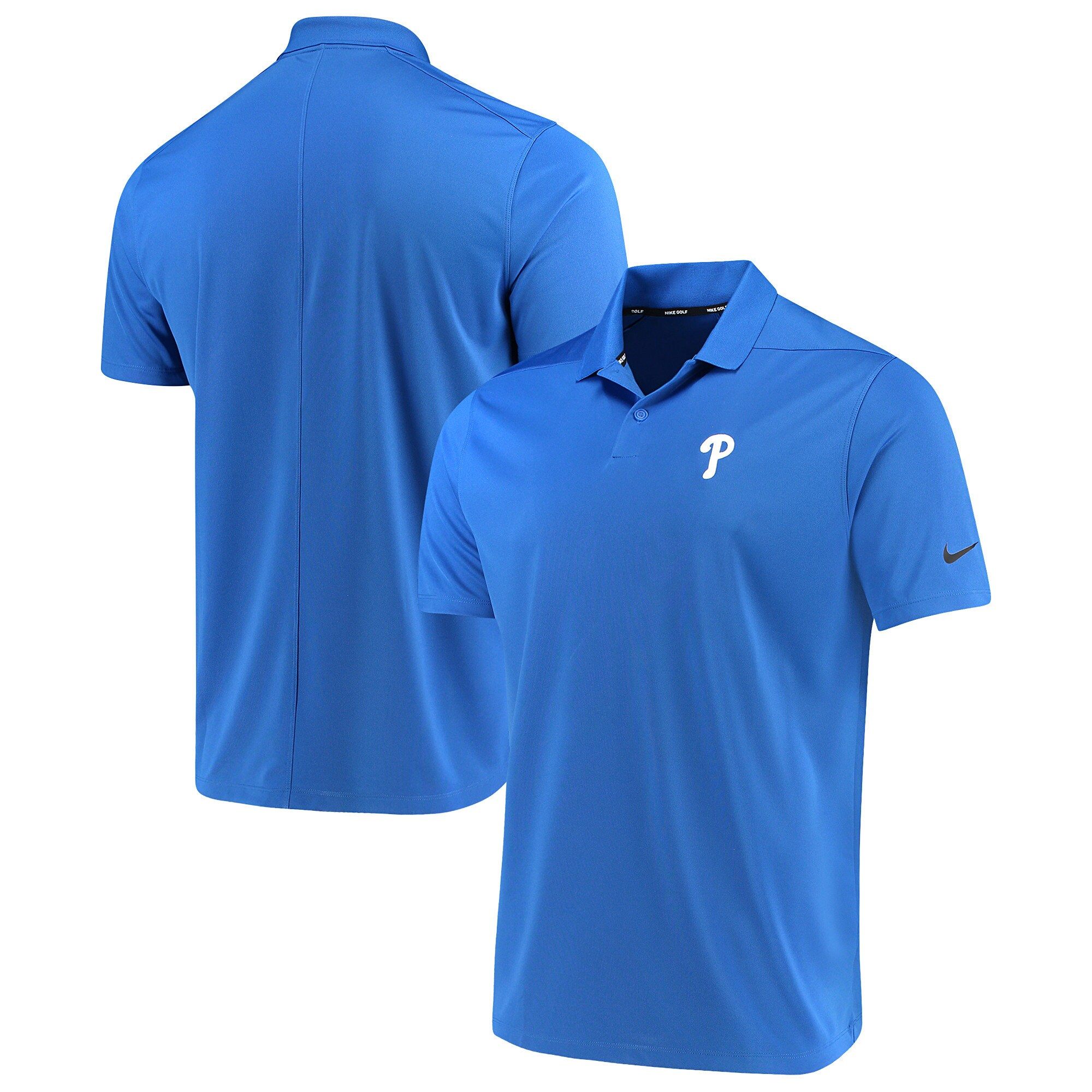 Philadelphia Phillies Nike Golf Solid Victory Performance Polo - Royal