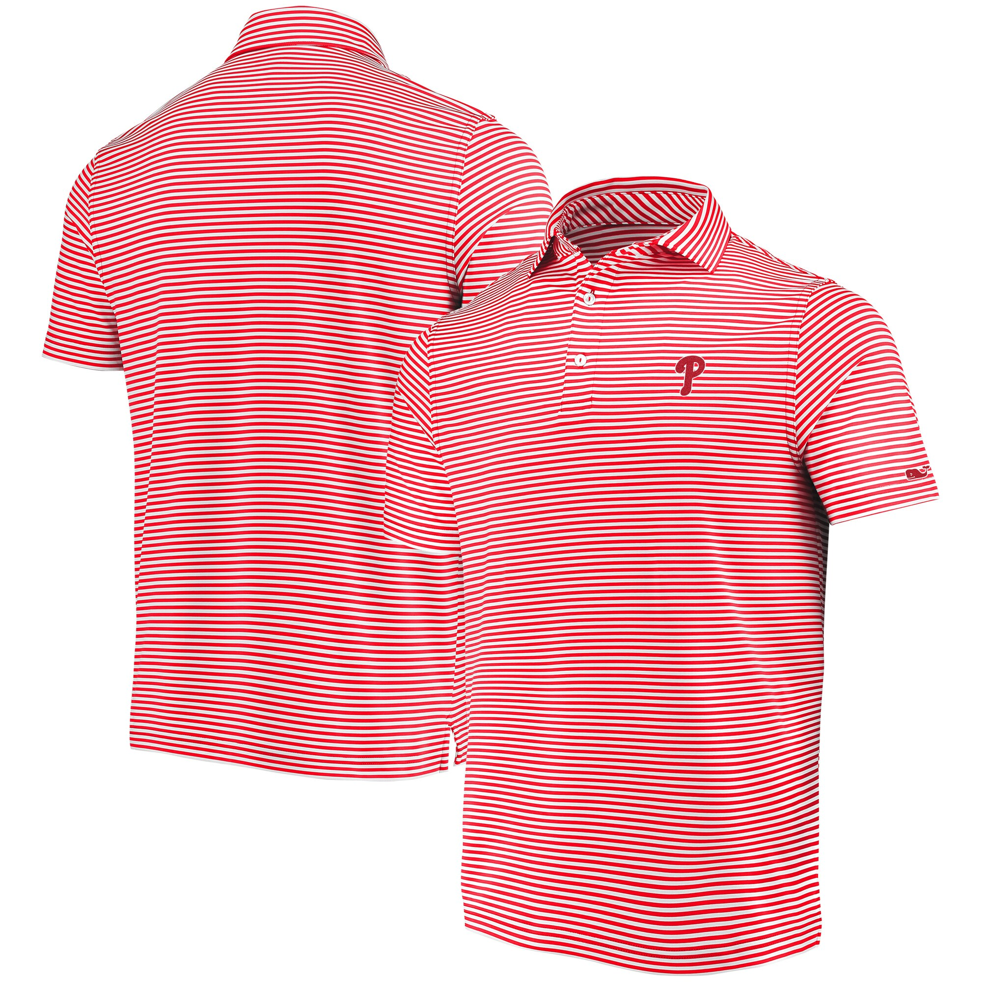 Philadelphia Phillies Vineyard Vines Winstead Sankaty Polo - Red