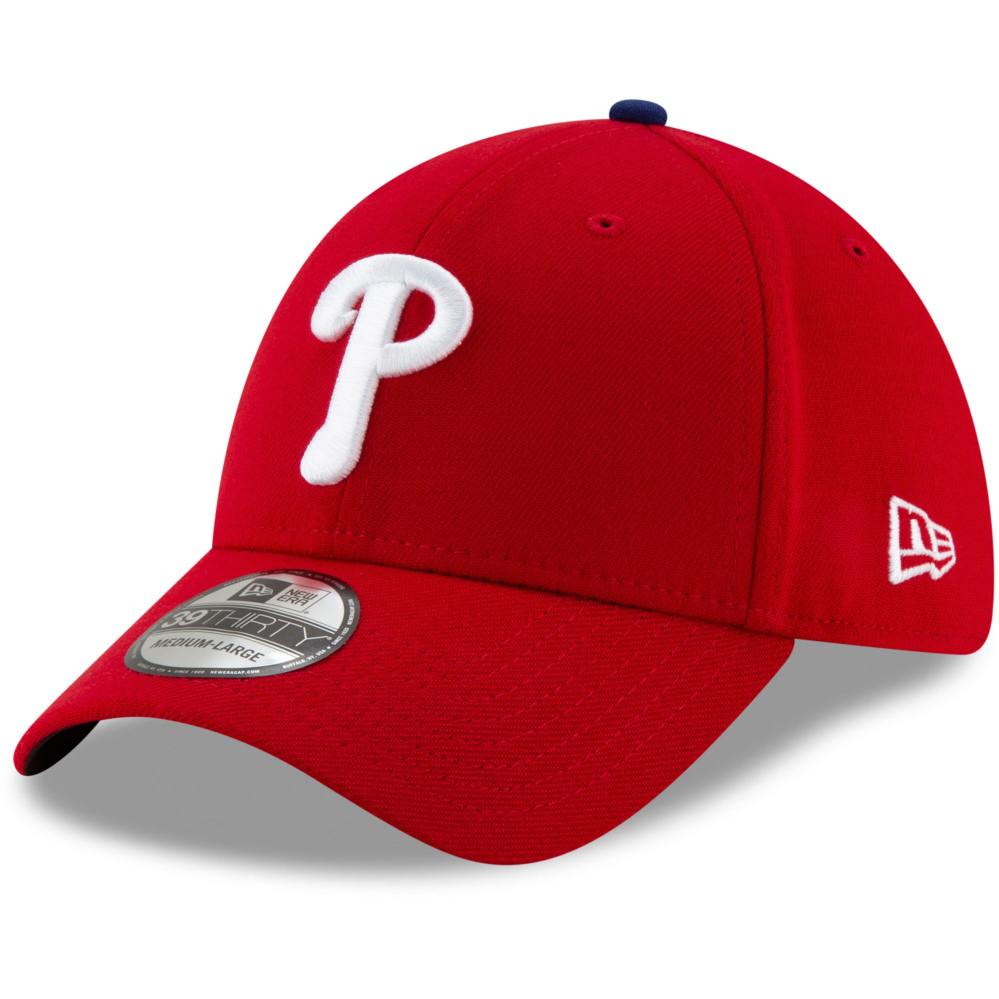Philadelphia Phillies New Era Game Team Classic 39THIRTY Flex Hat - Red