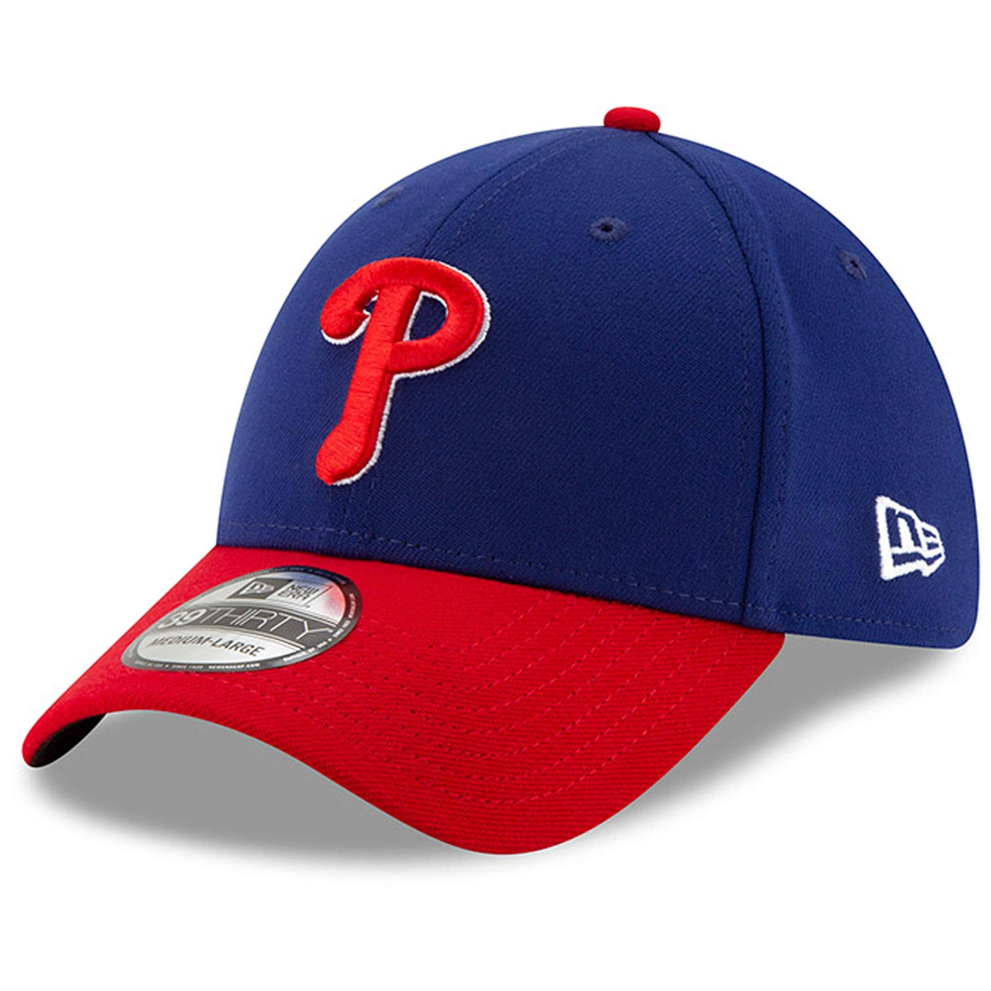 Philadelphia Phillies New Era Alternate Team Classic 39THIRTY Flex Hat - Royal/Red
