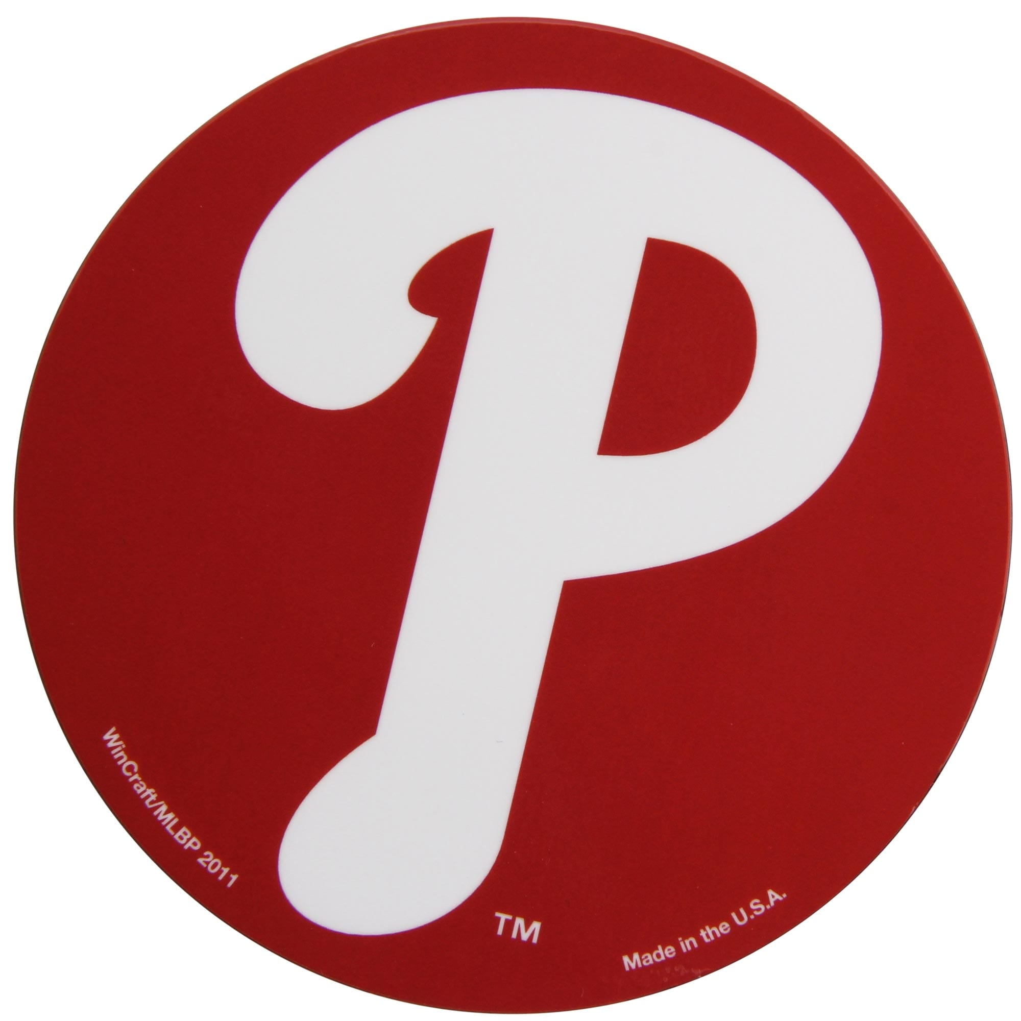 "Philadelphia Phillies WinCraft 5"" Die-Cut Car Magnet"