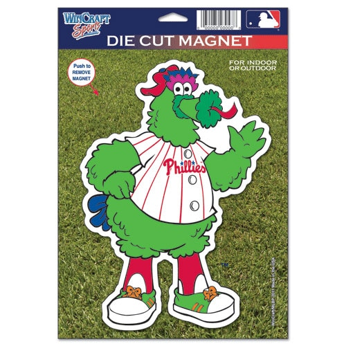 "Philadelphia Phillies WinCraft 6"" x 9"" Car Magnet--"