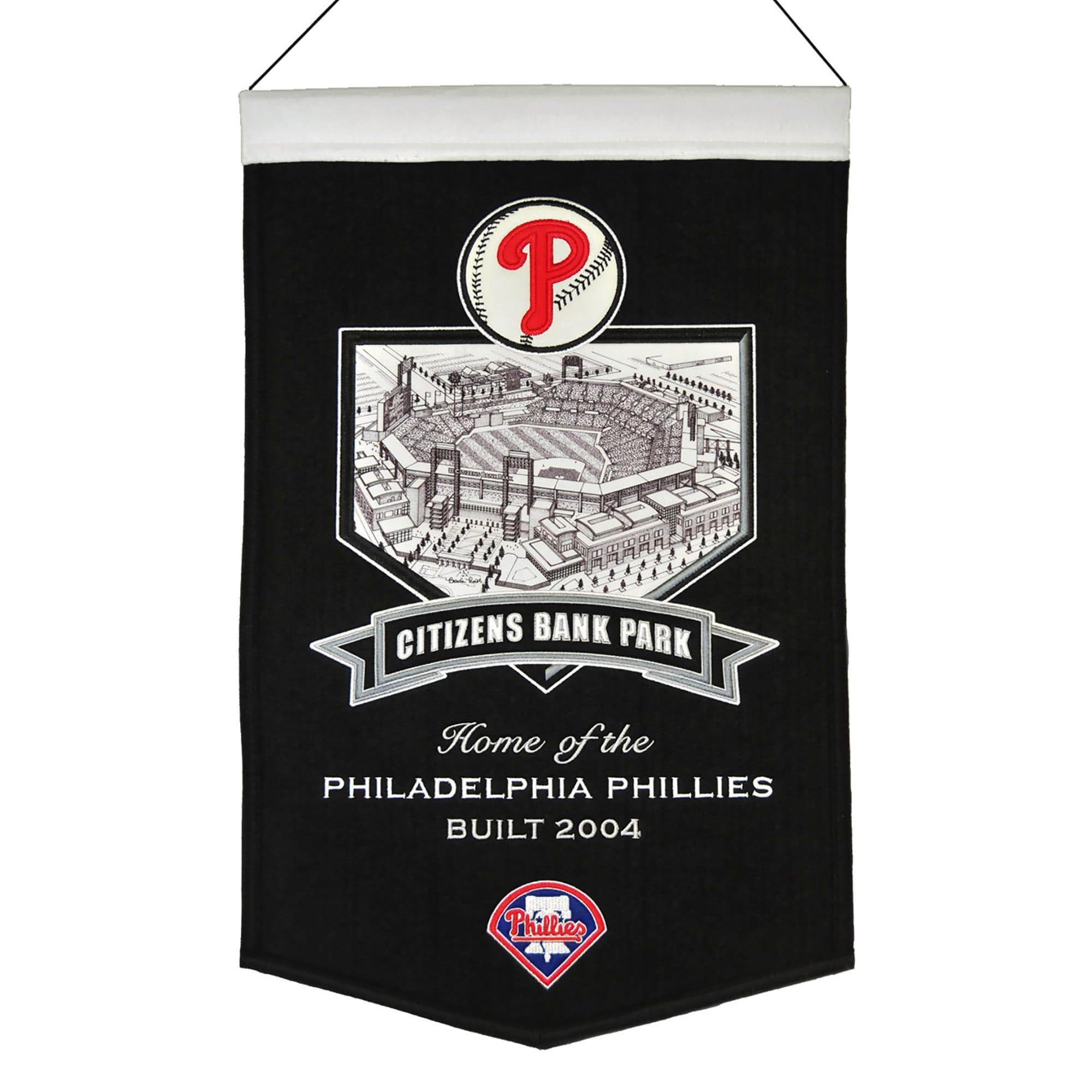 "Philadelphia Phillies 15"" x 24"" Citizens Bank Park Stadium Banner"