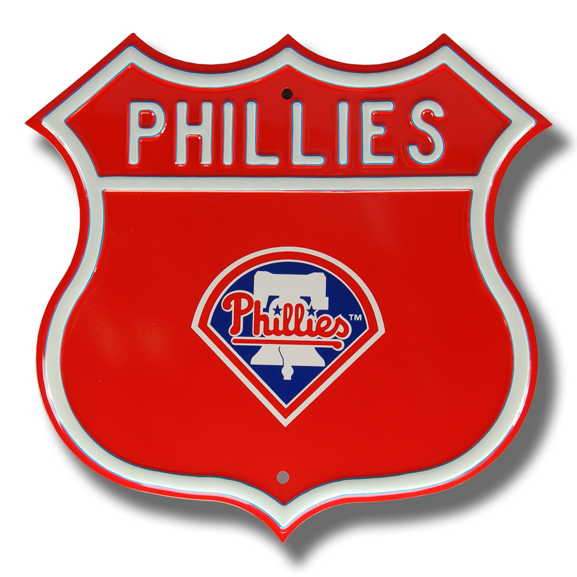 "Philadelphia Phillies 16"" Route Sign"