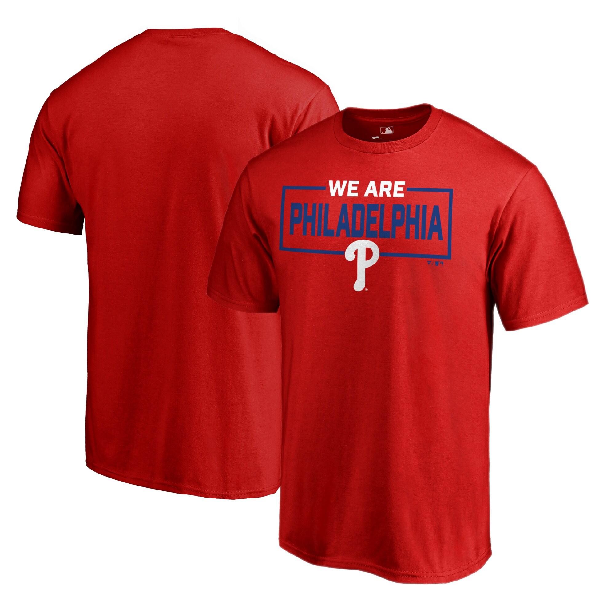 Philadelphia Phillies Fanatics Branded We Are Icon T-Shirt - Red
