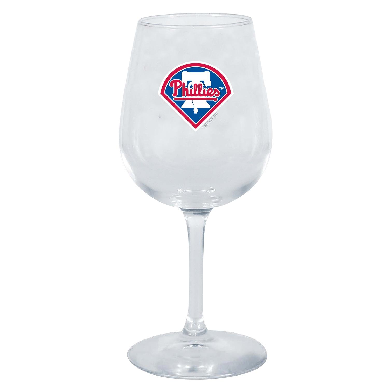 Philadelphia Phillies 12oz. Stemmed Wine Glass