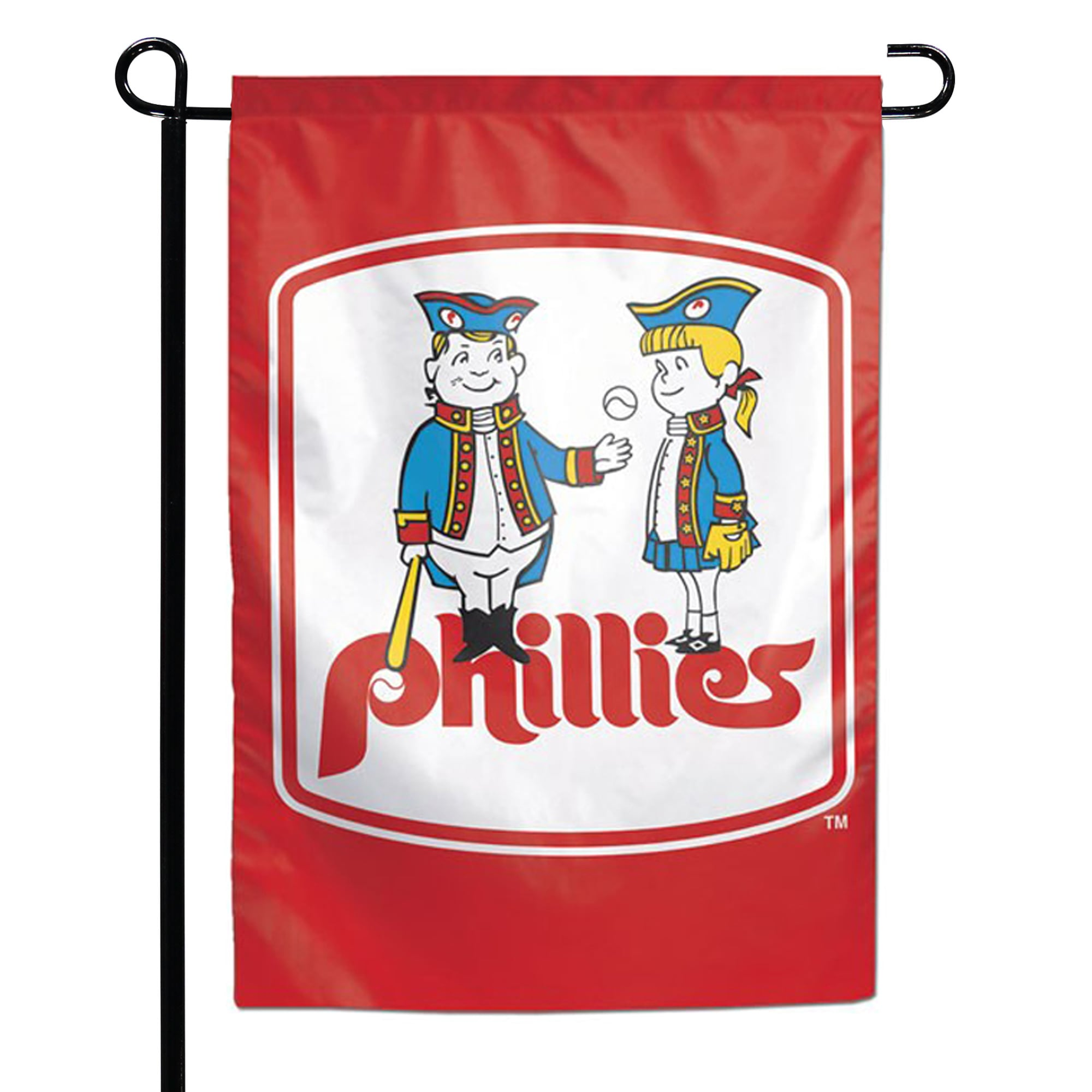 "Philadelphia Phillies WinCraft 12.5"" x 18"" Double-Sided Garden Flag"