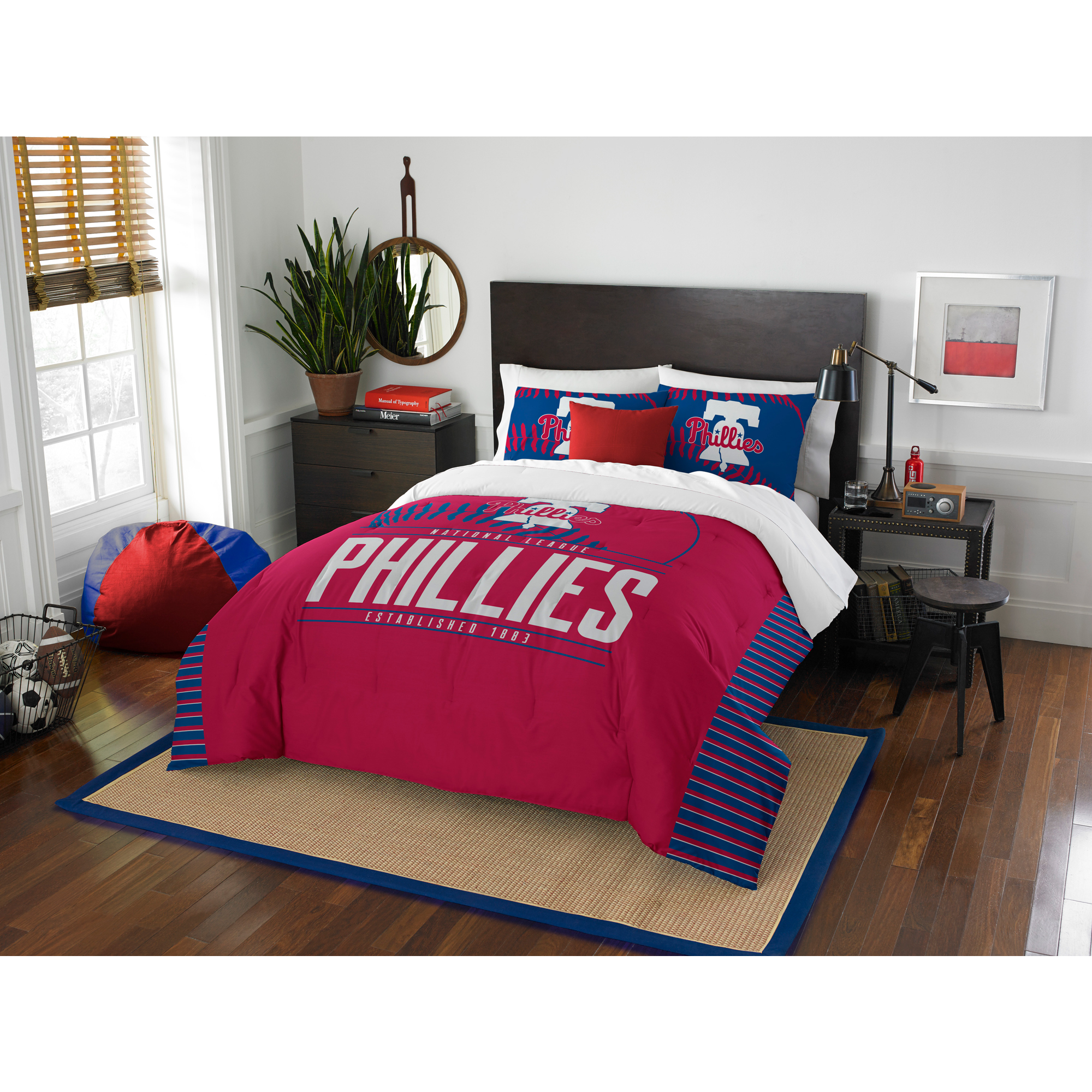 Philadelphia Phillies The Northwest Company Grand Slam Full/Queen Comforter Set