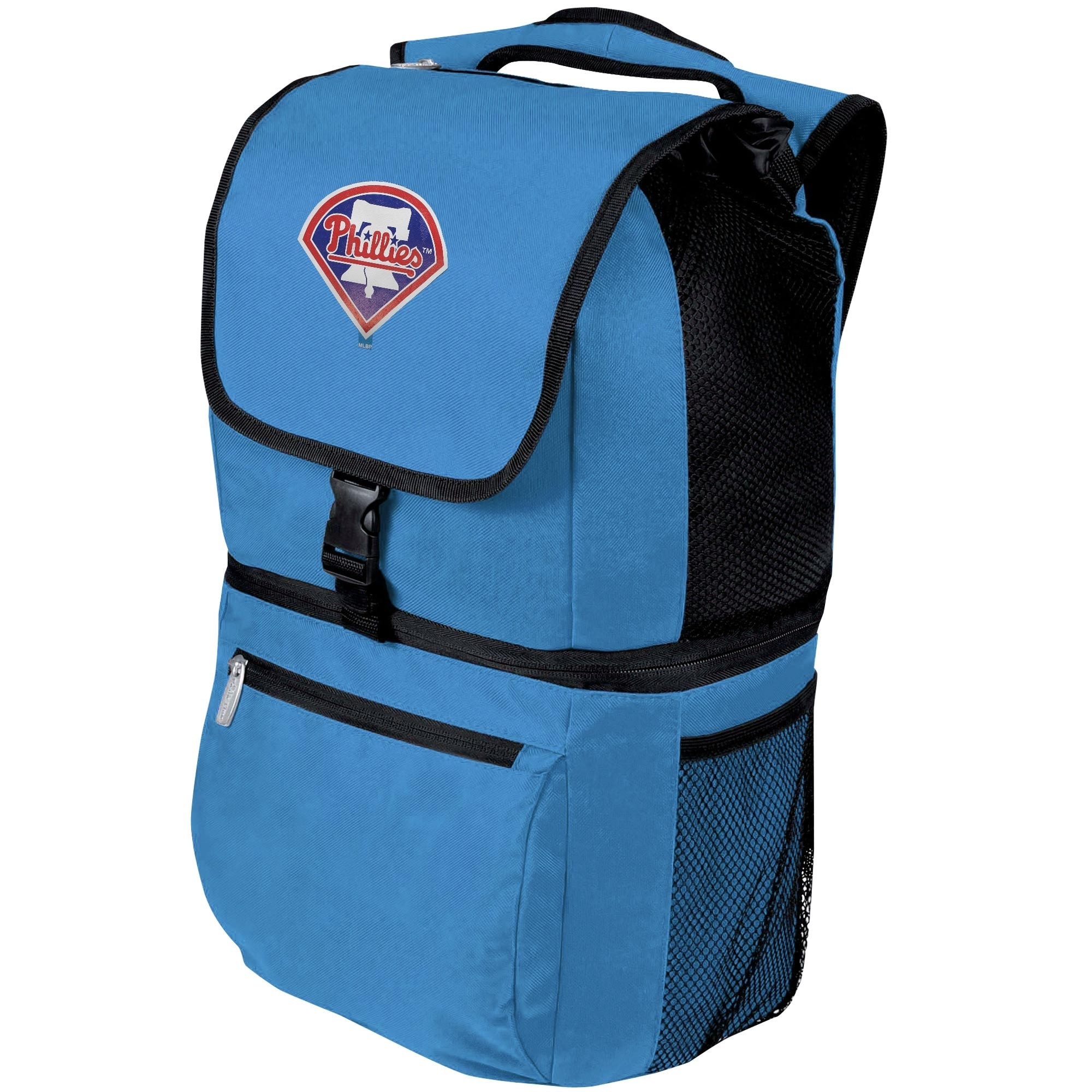 Philadelphia Phillies Zuma Backpack Cooler - Blue