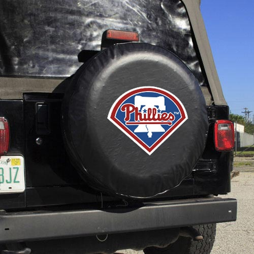 Philadelphia Phillies Large Tire Cover