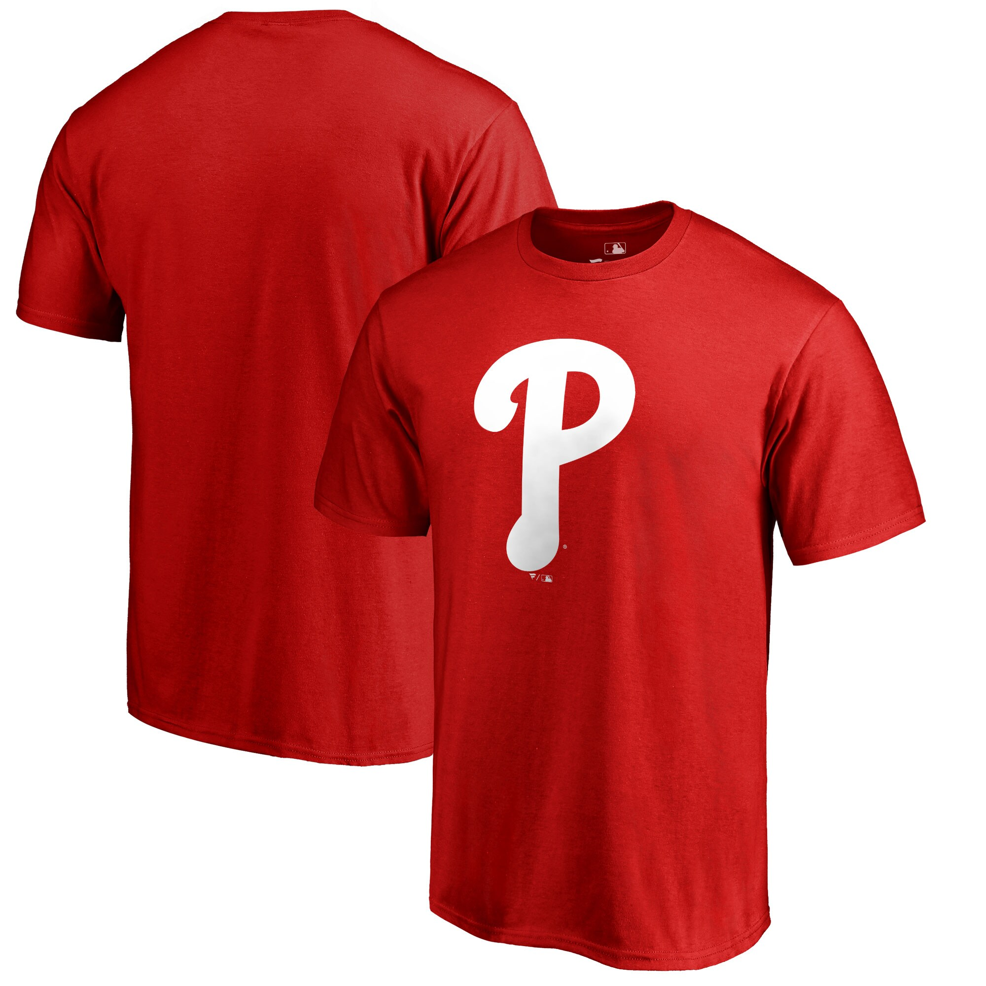 Philadelphia Phillies Big & Tall Primary Team Logo T-Shirt - Red