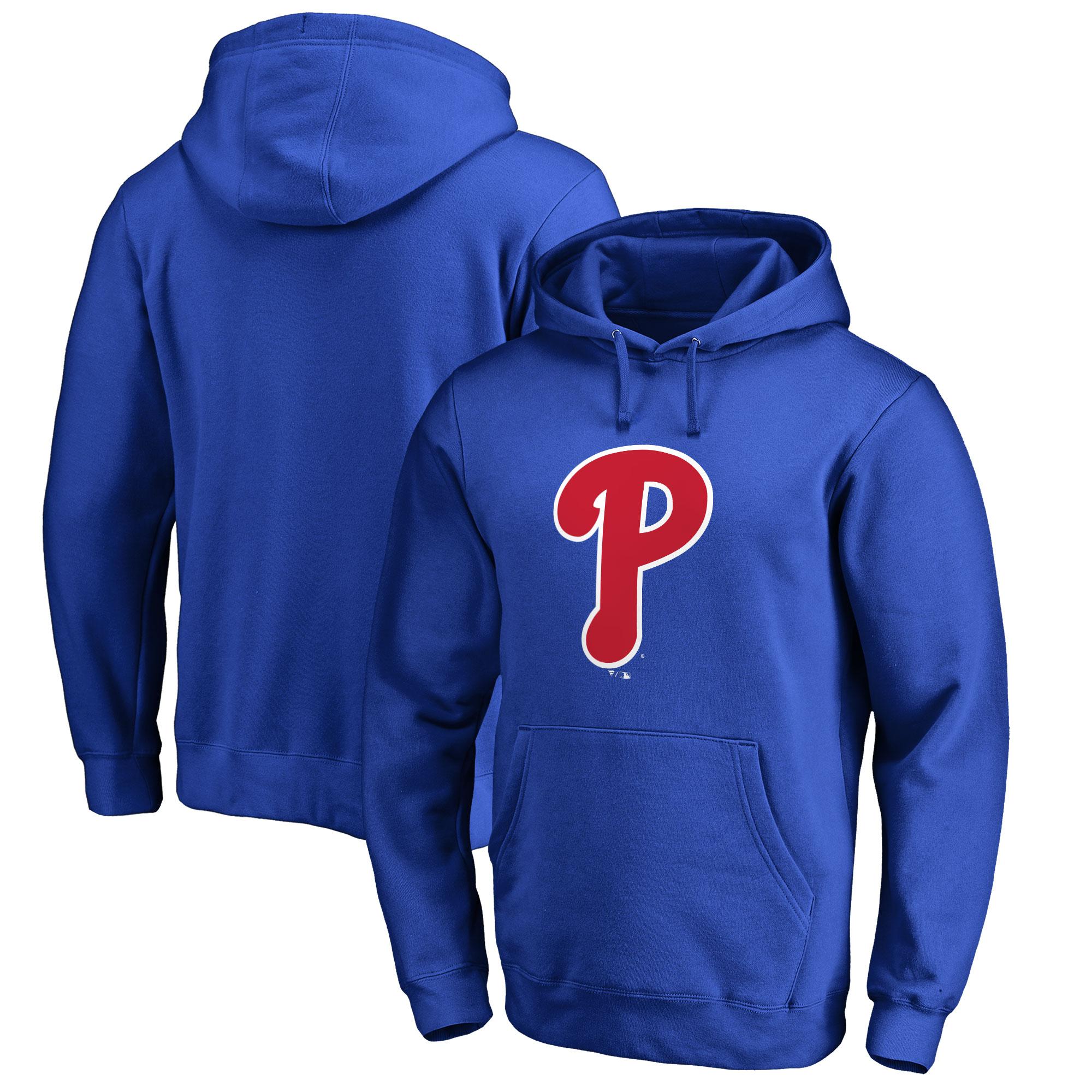 Philadelphia Phillies Big & Tall Primary Team Logo Pullover Hoodie - Royal