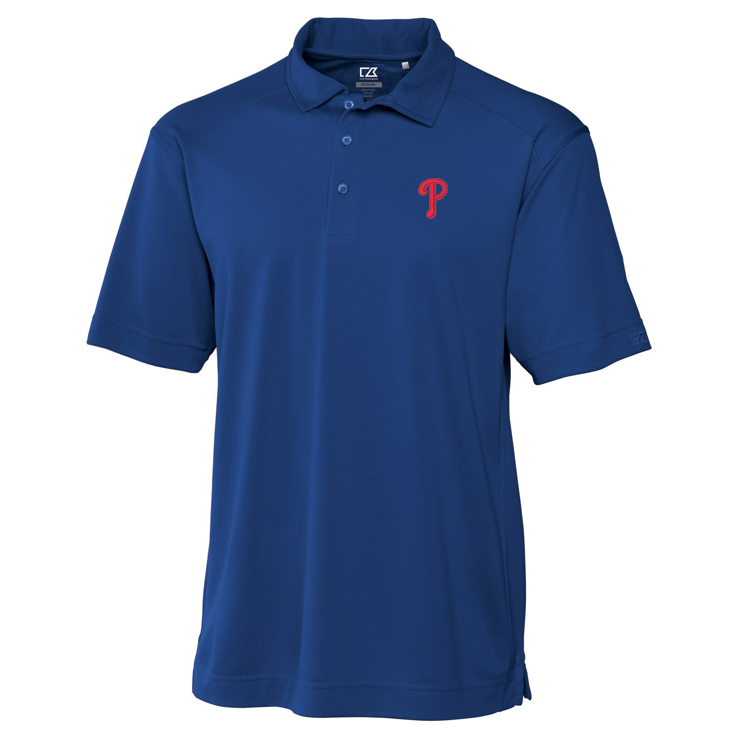 Philadelphia Phillies Cutter & Buck Big & Tall DryTec Genre Polo - Royal