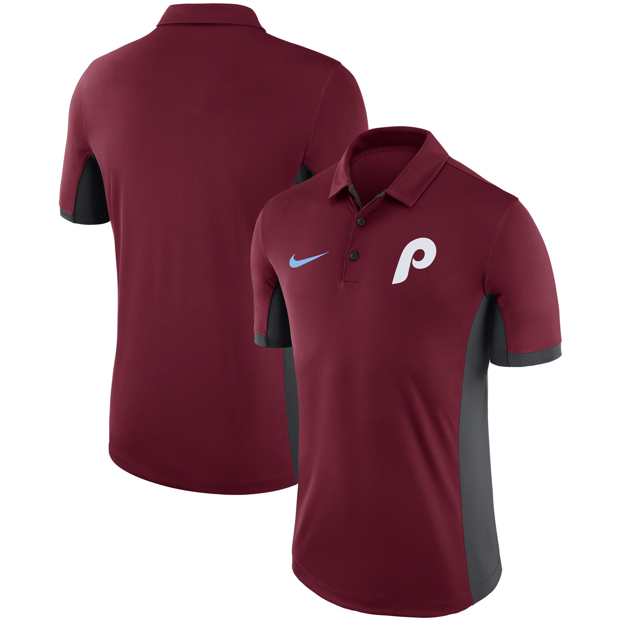 Philadelphia Phillies Nike Performance Franchise Polo - Maroon