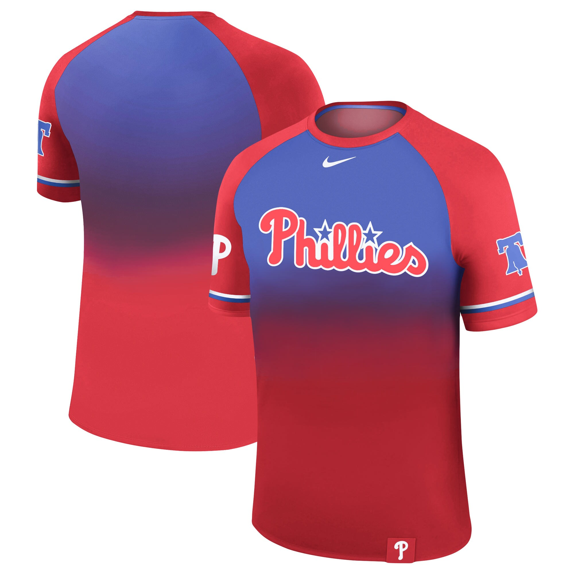 Philadelphia Phillies Nike Legend Raglan T-Shirt - Red