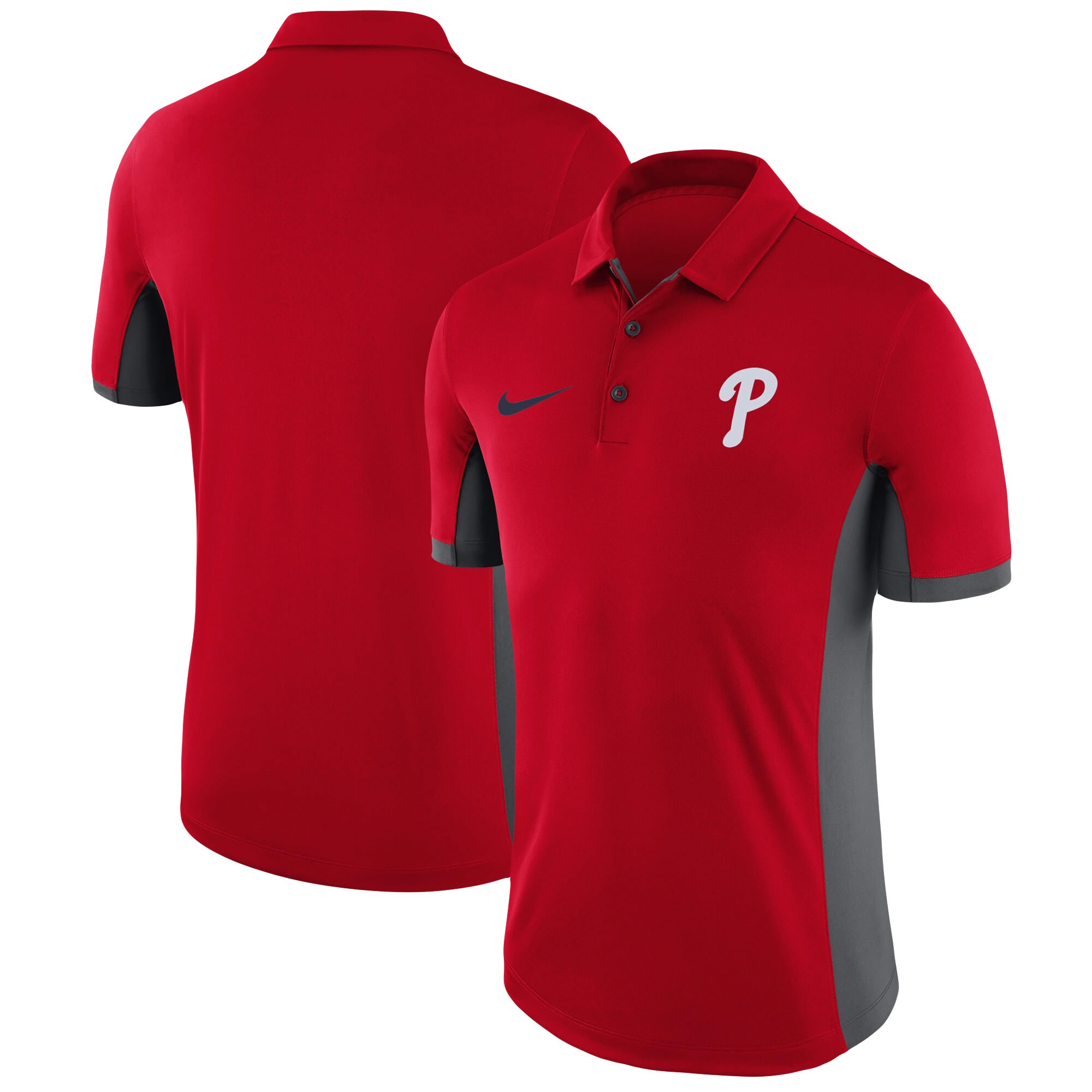 Philadelphia Phillies Nike Franchise Performance Polo - Red