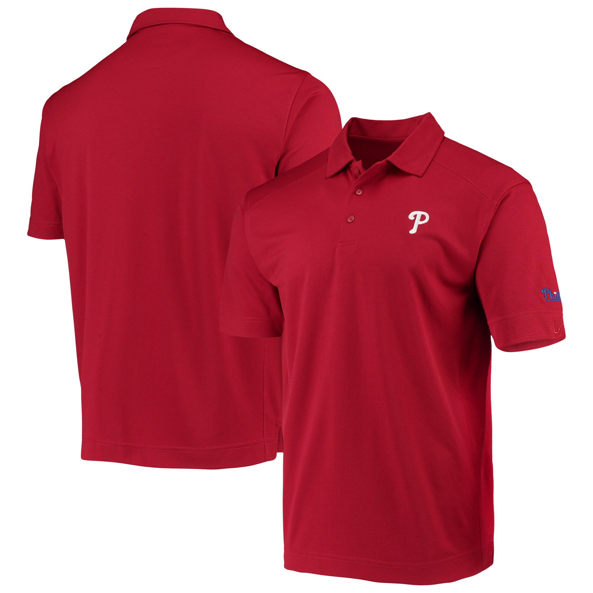 Philadelphia Phillies CBUK by Cutter & Buck Genre DryTec Polo - Red