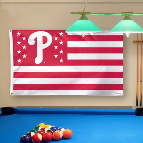 Philadelphia Phillies WinCraft Deluxe Stars & Stripes 3' x 5' Flag