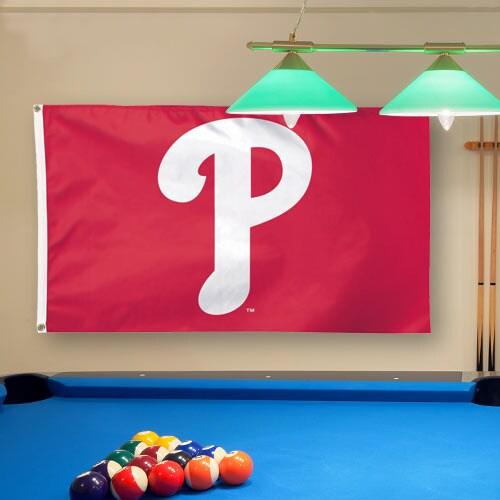 Philadelphia Phillies WinCraft Deluxe 3' x 5' Flag - Red