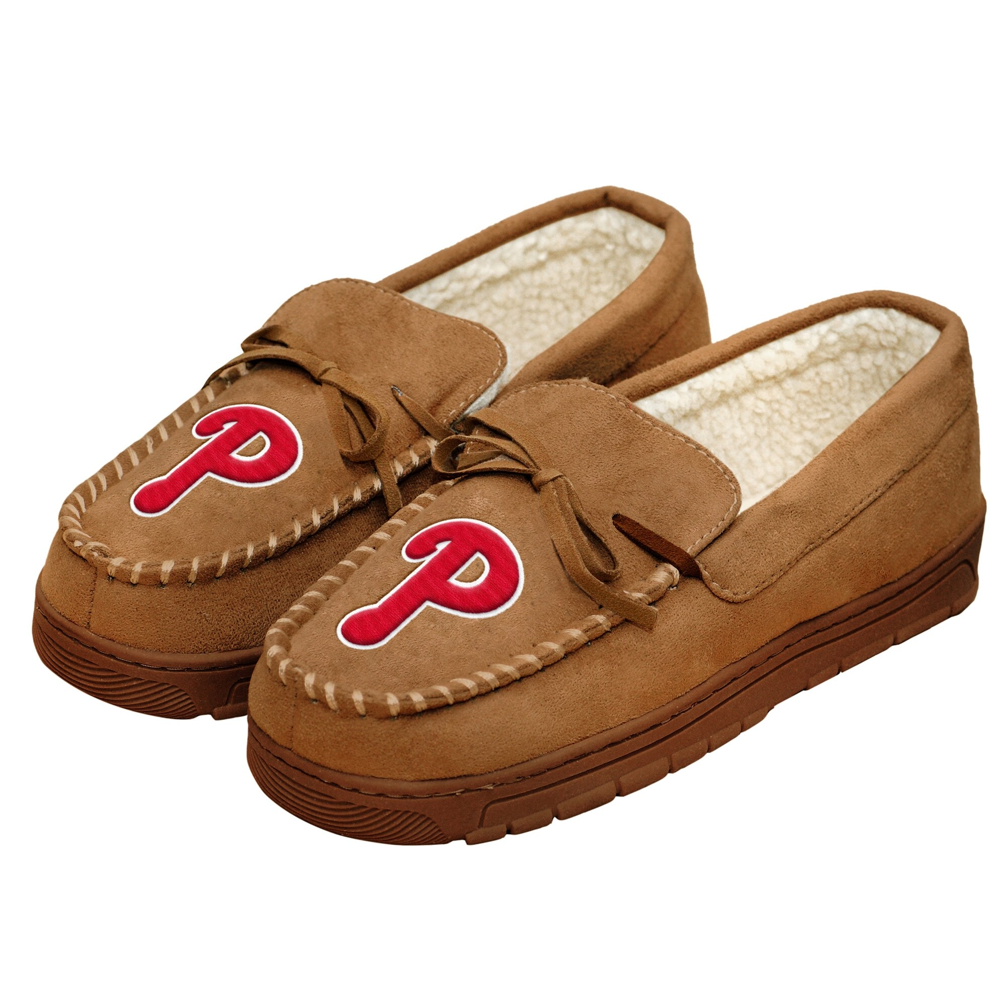 Philadelphia Phillies Moccasin Slippers