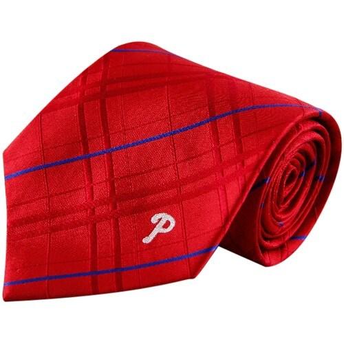 Philadelphia Phillies Oxford Woven Tie - Red