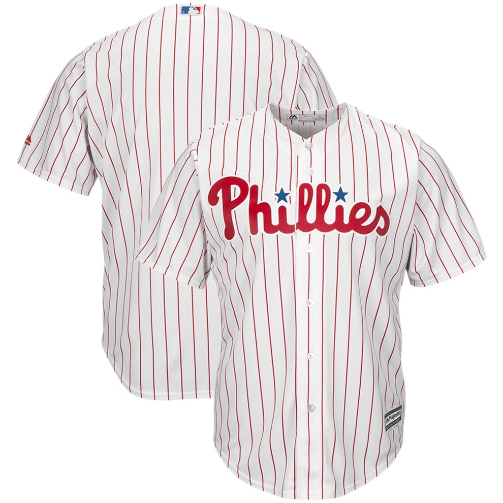 Philadelphia Phillies Majestic Big & Tall Cool Base Team Jersey - White