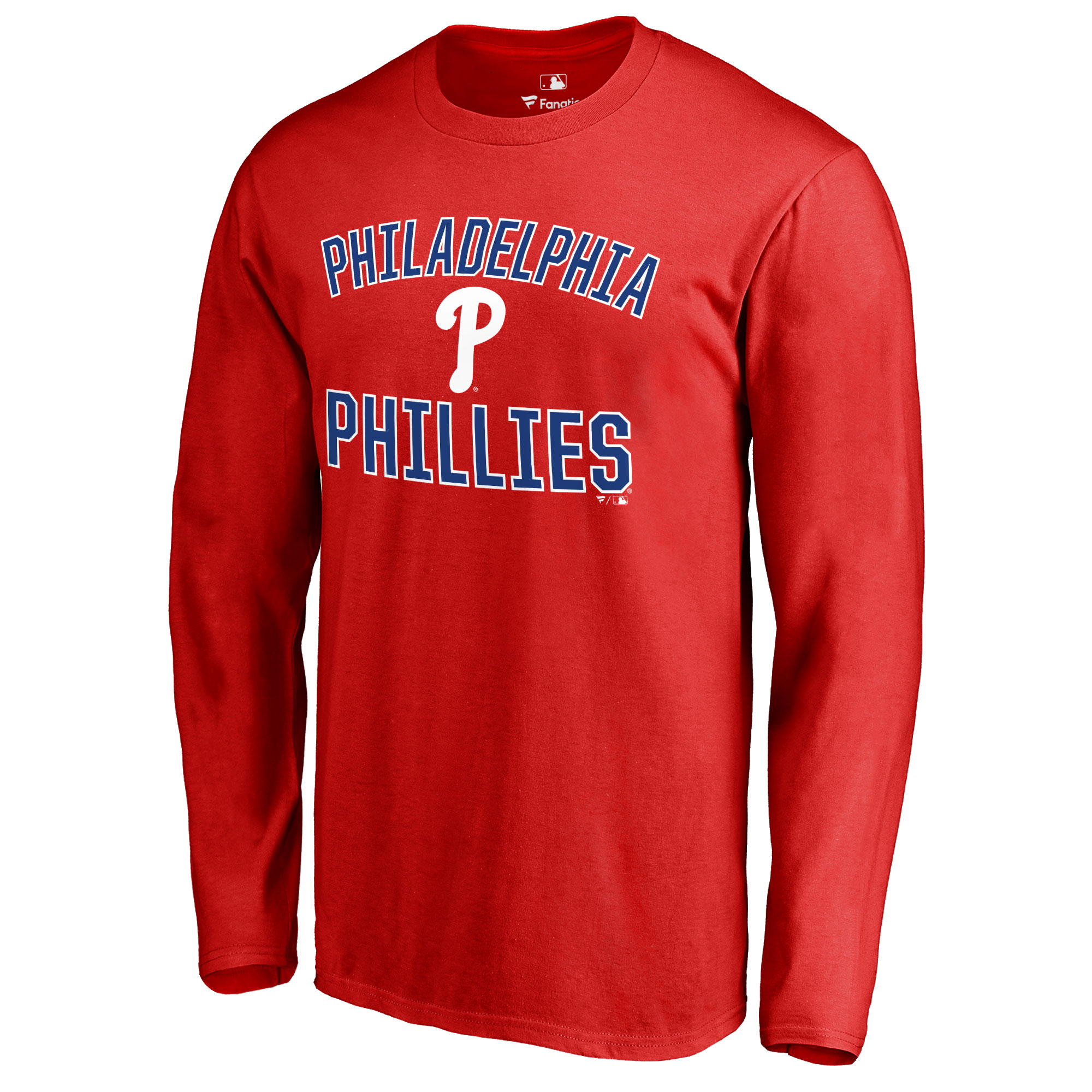 Philadelphia Phillies Victory Arch Long Sleeve T-Shirt - Red