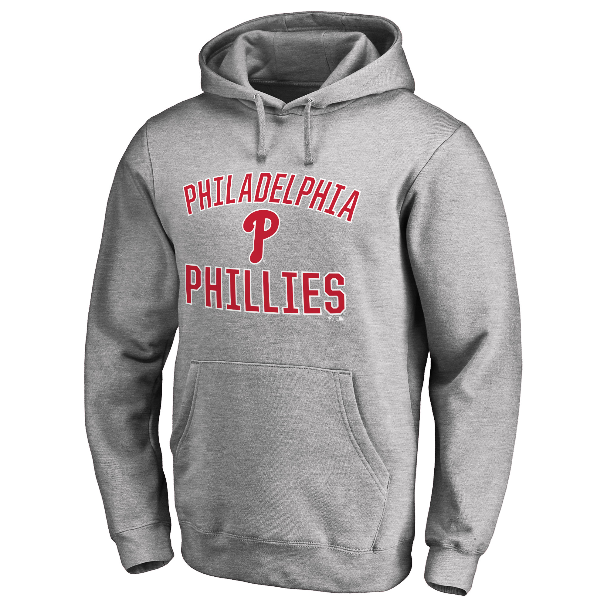 Philadelphia Phillies Victory Arch Pullover Hoodie - Ash