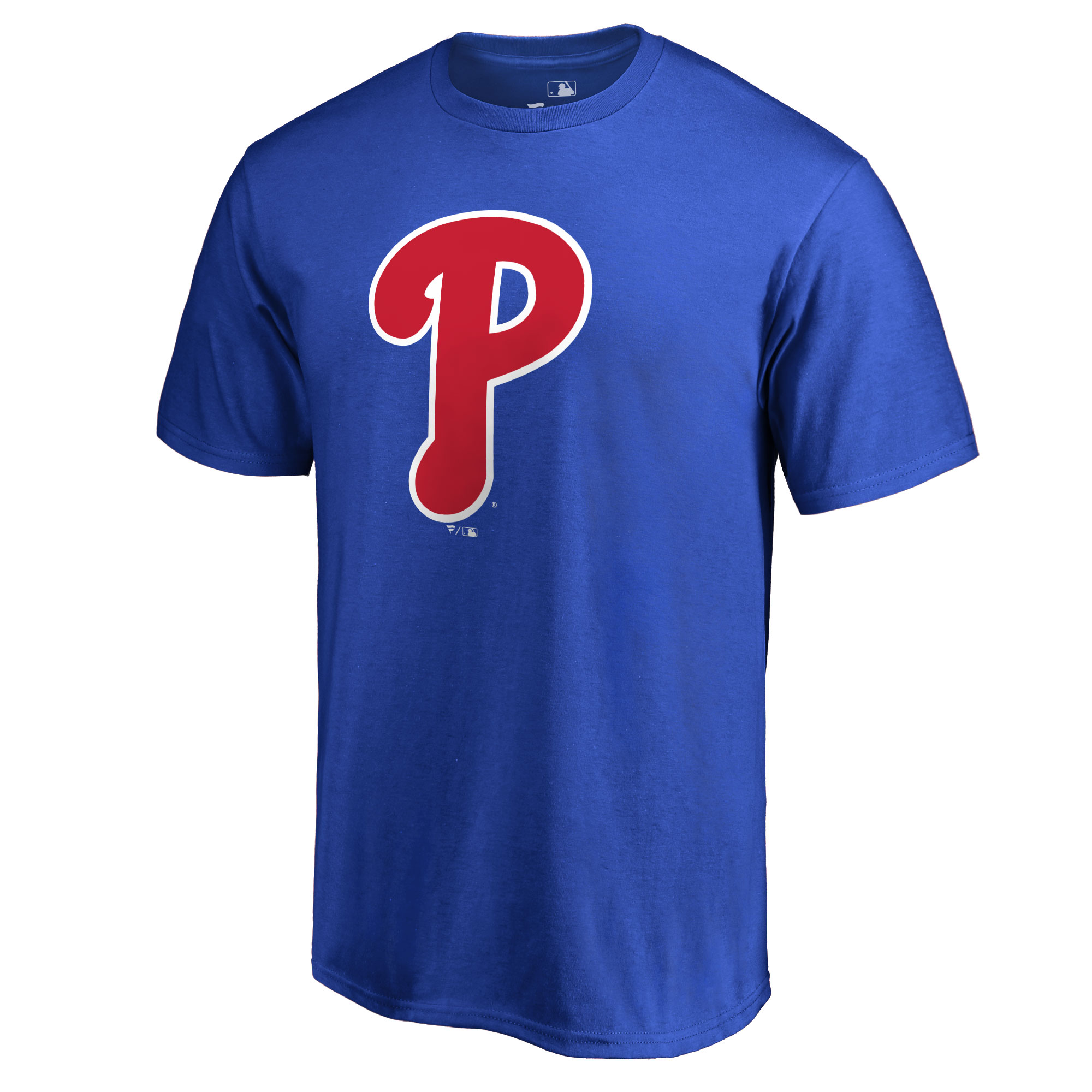 Philadelphia Phillies Secondary Color Primary Logo T-Shirt - Royal