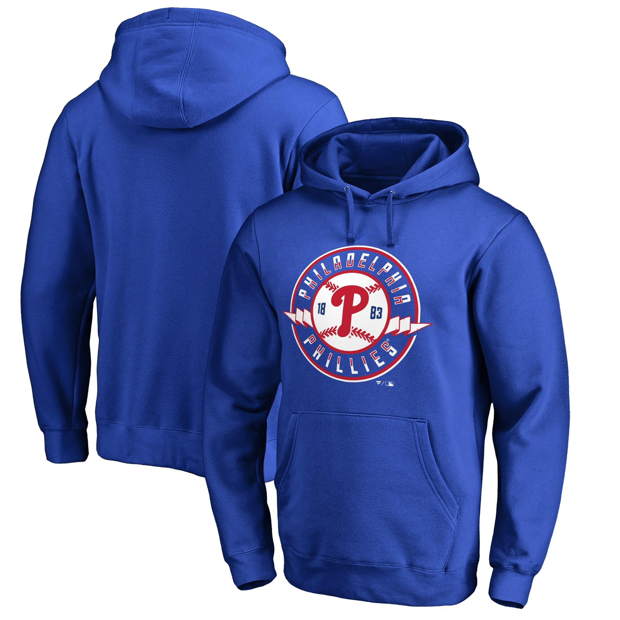 Philadelphia Phillies Phillies Pennant Hometown Pullover Hoodie - Royal