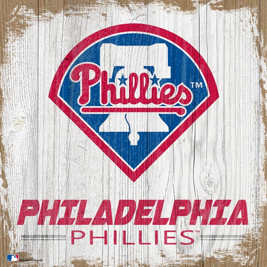 Philadelphia Phillies 6'' x 6'' Team Logo Block