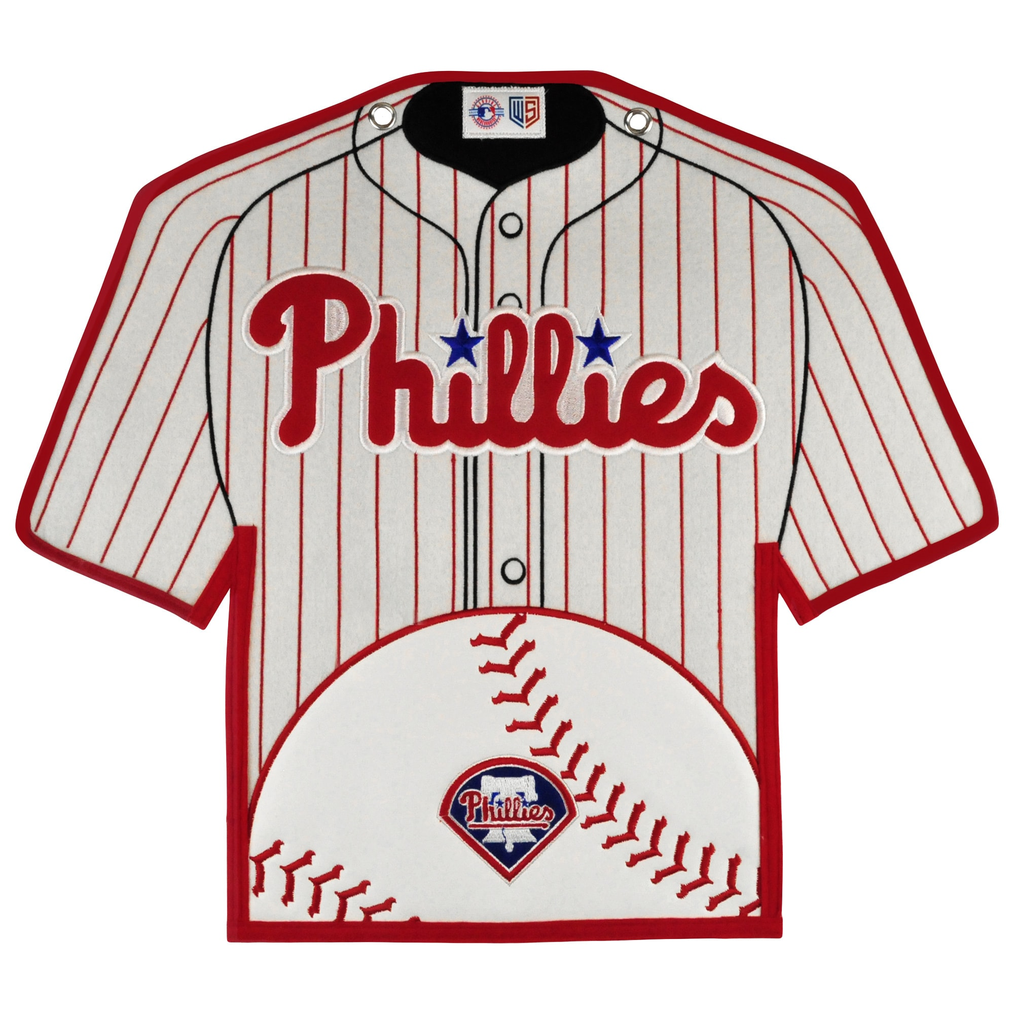 Philadelphia Phillies 14'' x 22'' Jersey Traditions Banner - White/Red