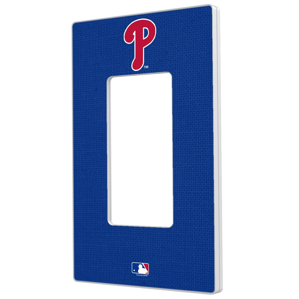 Philadelphia Phillies Solid Single Rocker Light Switch Plate