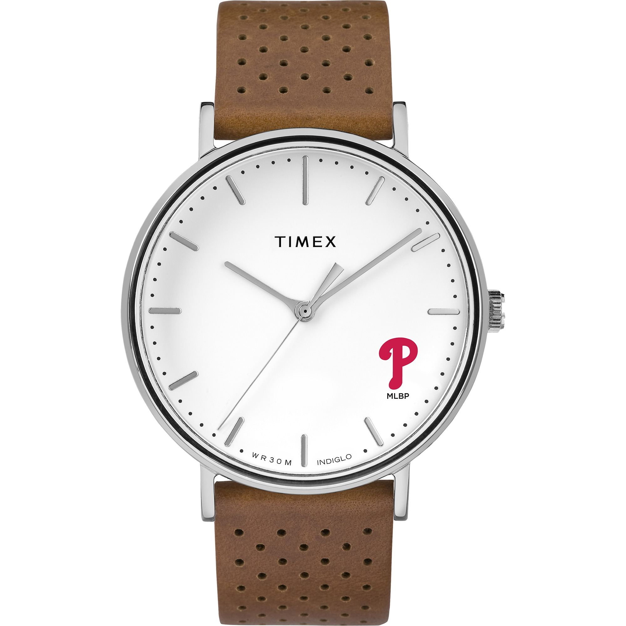 Philadelphia Phillies Timex Bright Whites Tribute Collection Watch