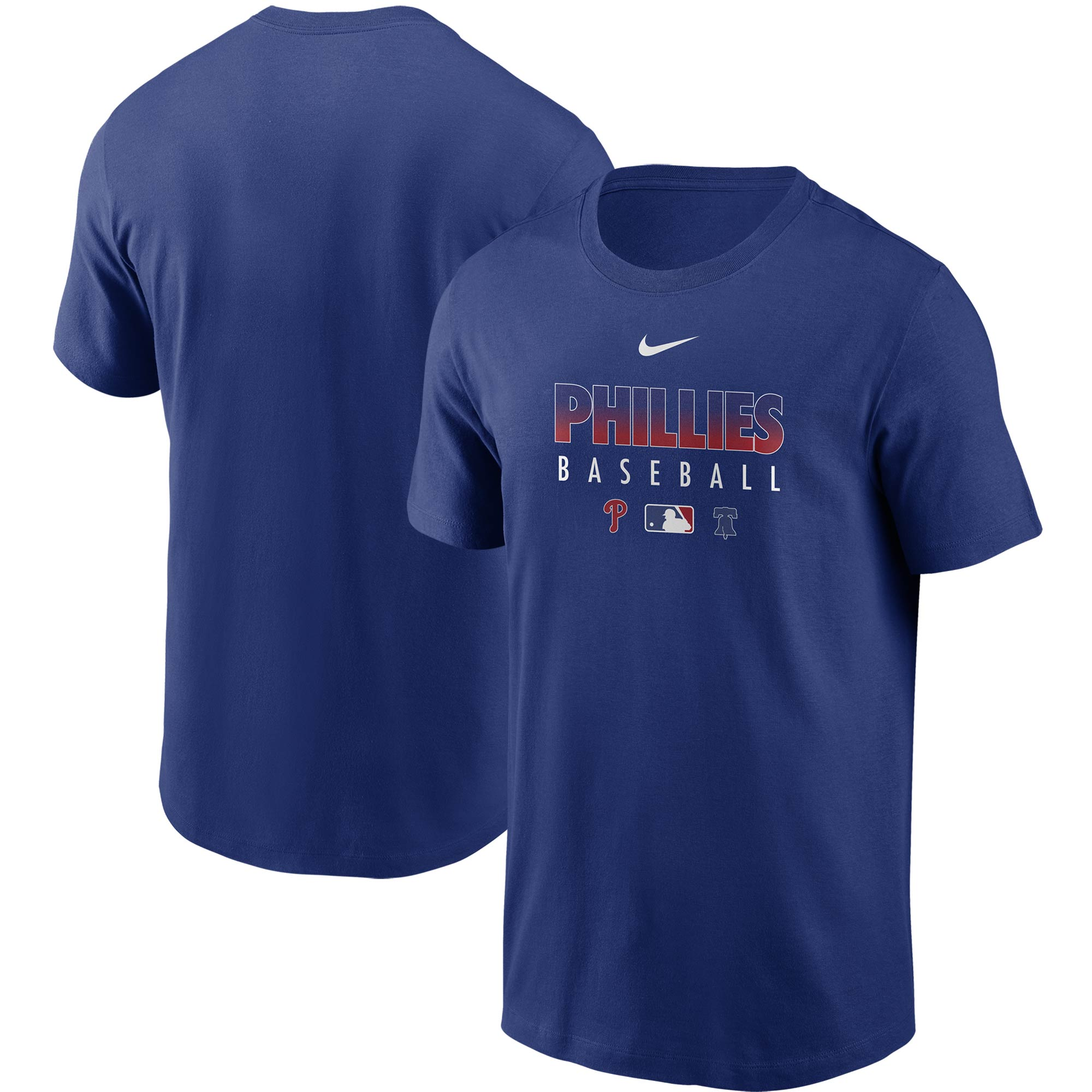 Philadelphia Phillies Nike Authentic Collection Team Performance T-Shirt - Royal