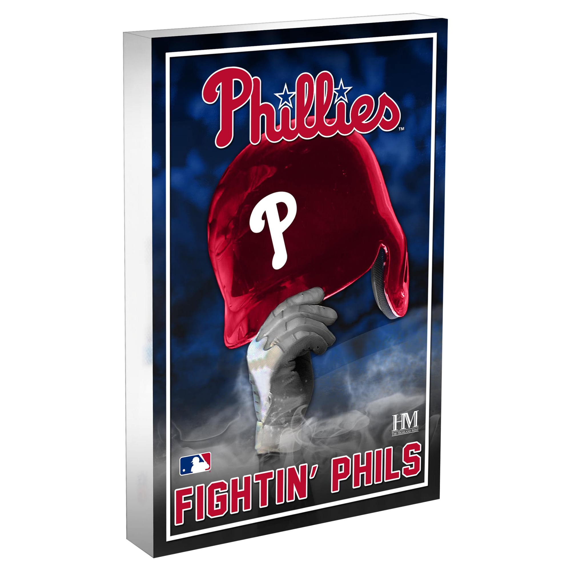 Philadelphia Phillies Highland Mint 4'' x 6'' Team Pride Acrylic 3D Block Photo
