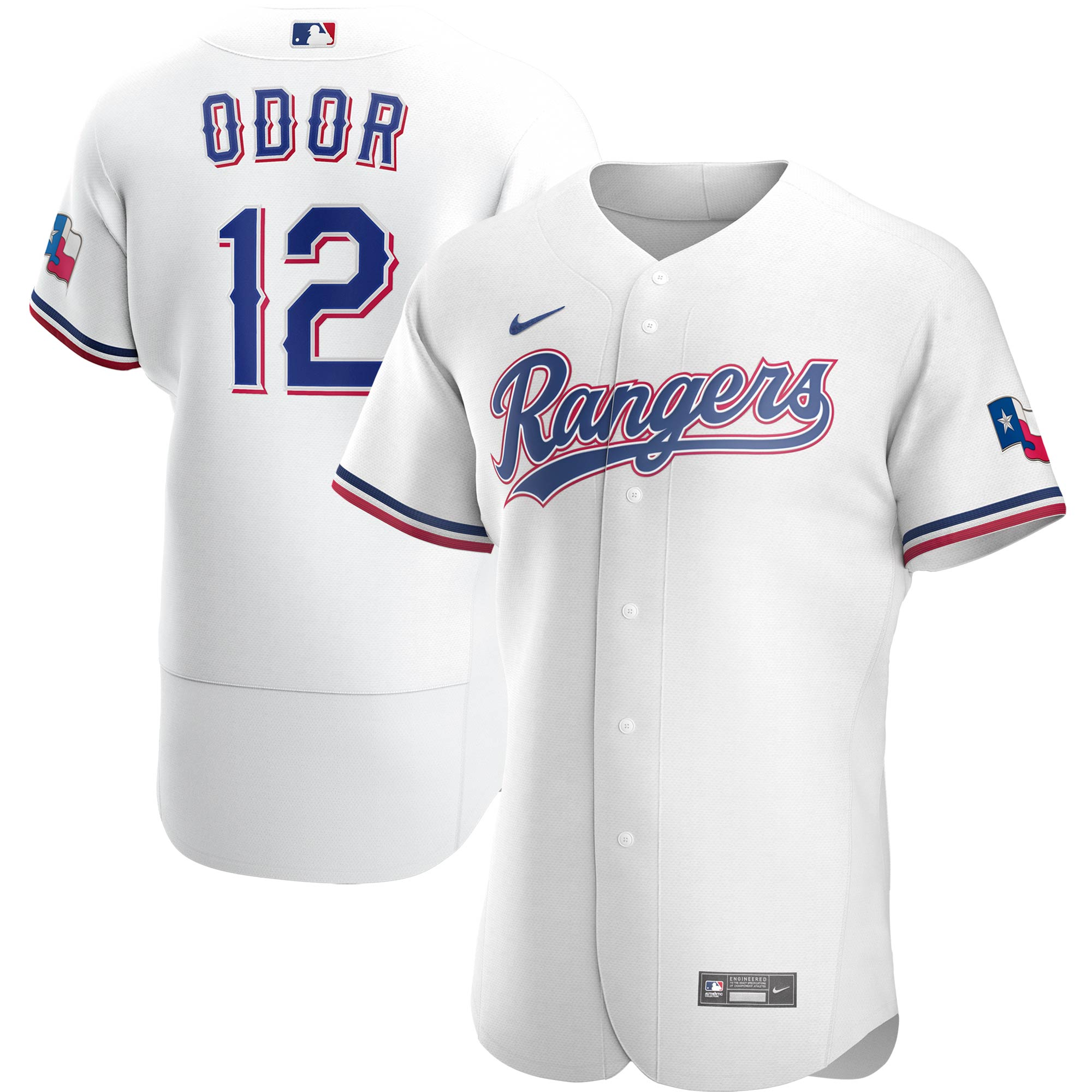 Rougned Odor Texas Rangers Nike Home 2020 Authentic Player Jersey - White