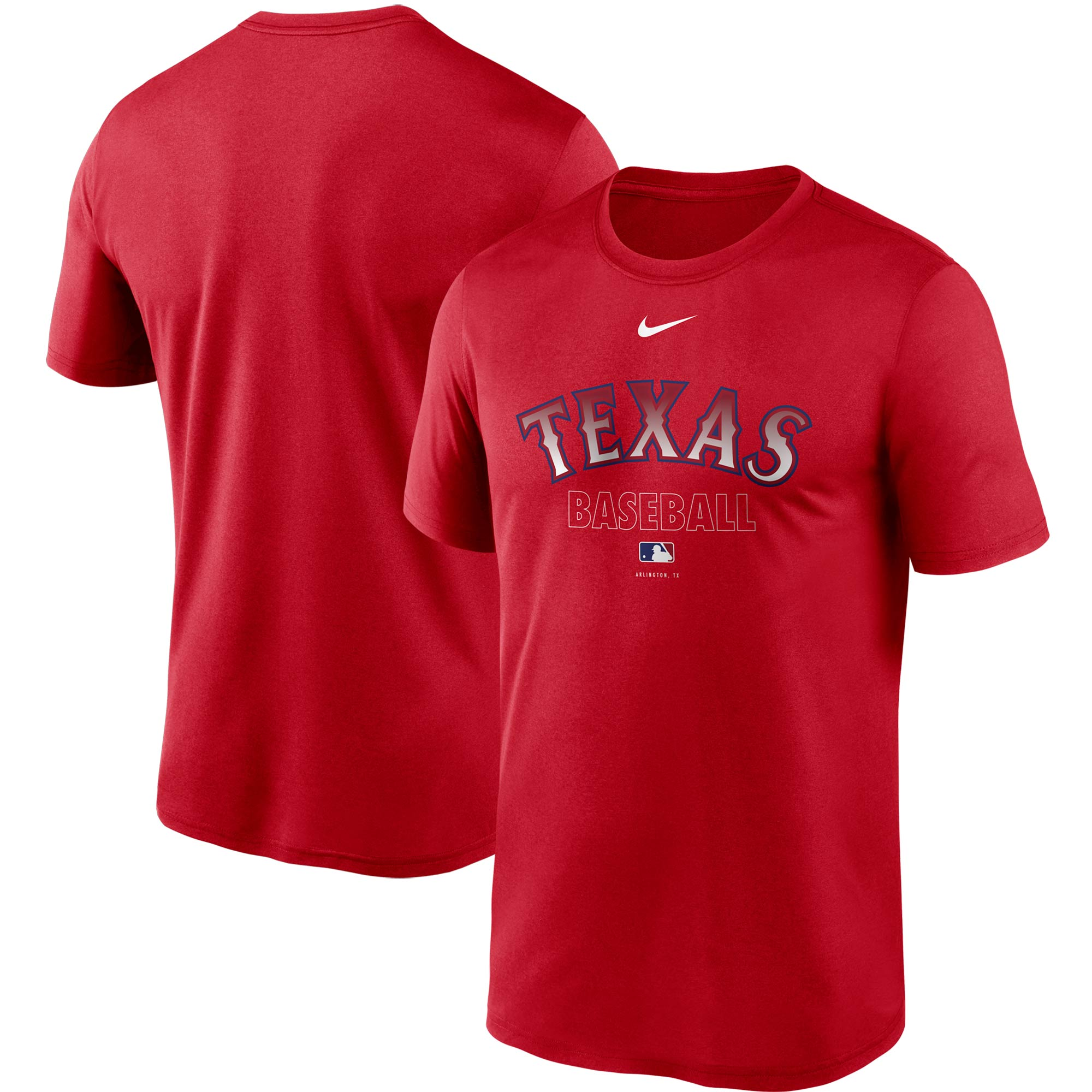 Texas Rangers Nike Authentic Collection Legend Performance T-Shirt - Red