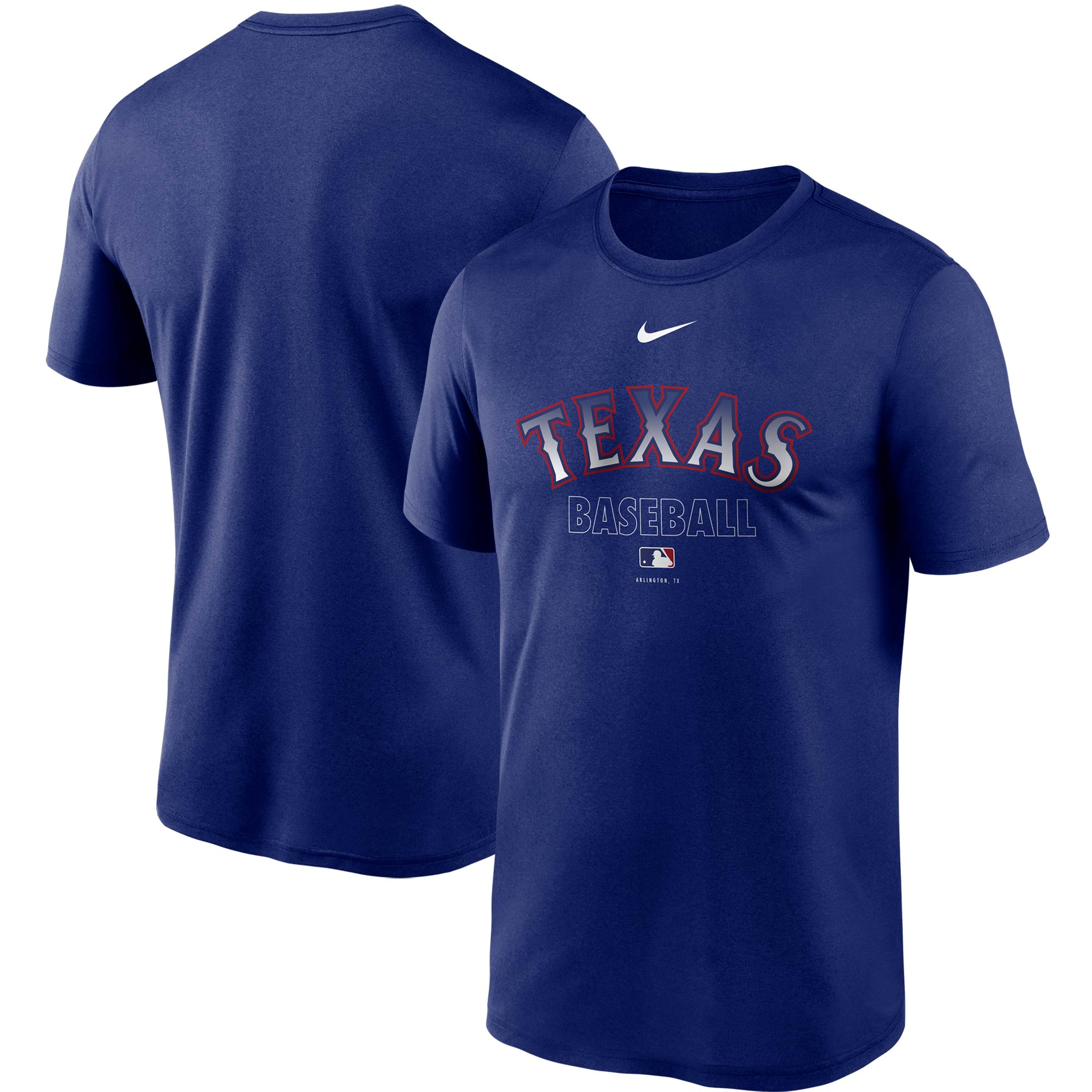 Texas Rangers Nike Authentic Collection Legend Performance T-Shirt - Royal