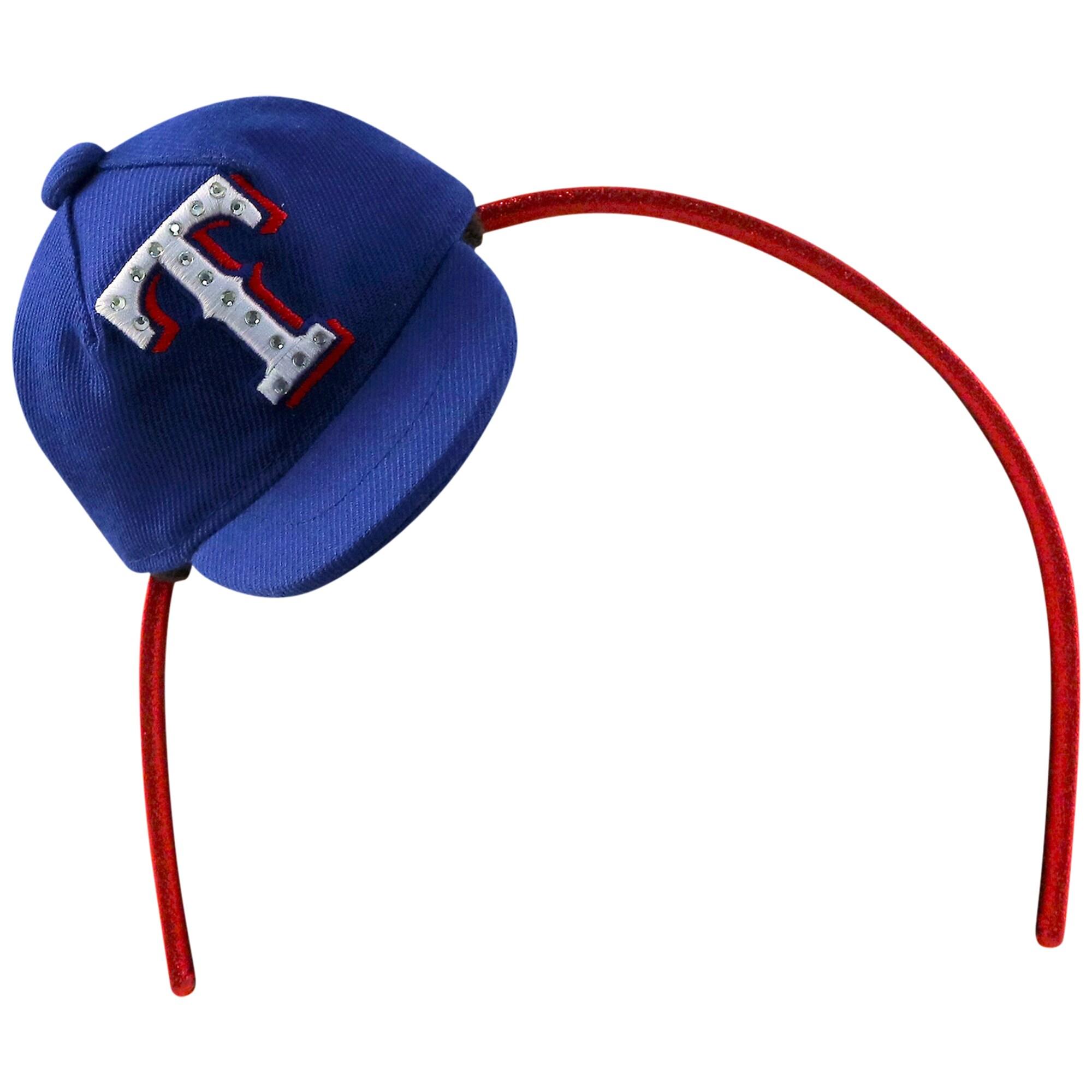 Texas Rangers Women's Team Toppers Rhinestone Headband - Blue