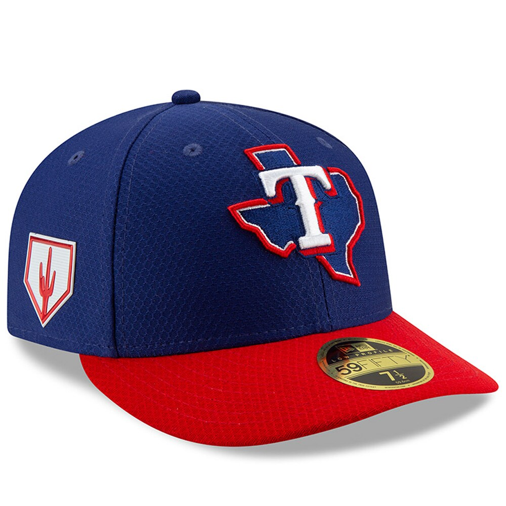 Texas Rangers New Era 2019 Spring Training Low Profile 59FIFTY Fitted Hat - Blue/Red