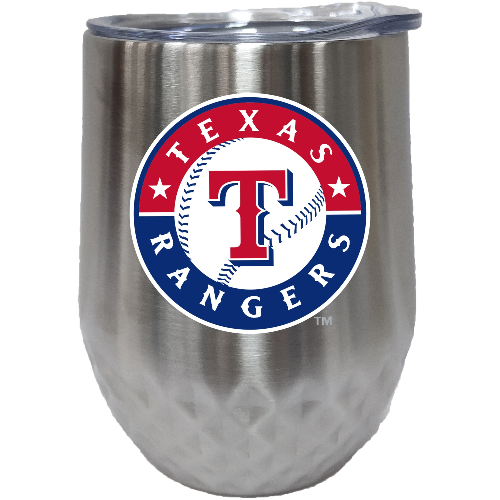 Texas Rangers 12oz. Stainless Steel Stemless Diamond Tumbler