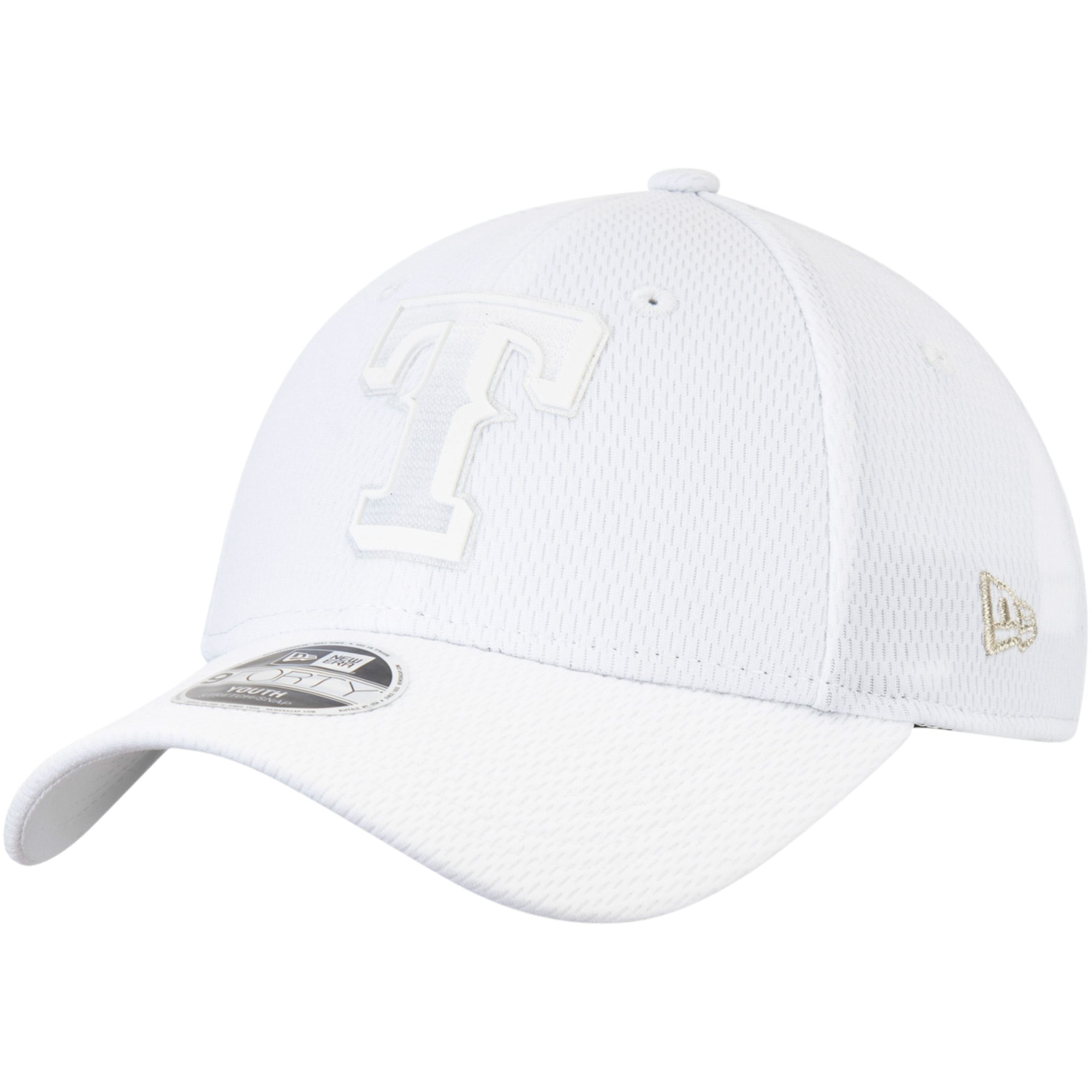 Texas Rangers New Era Youth 2019 Players' Weekend 9FORTY Adjustable Hat - White