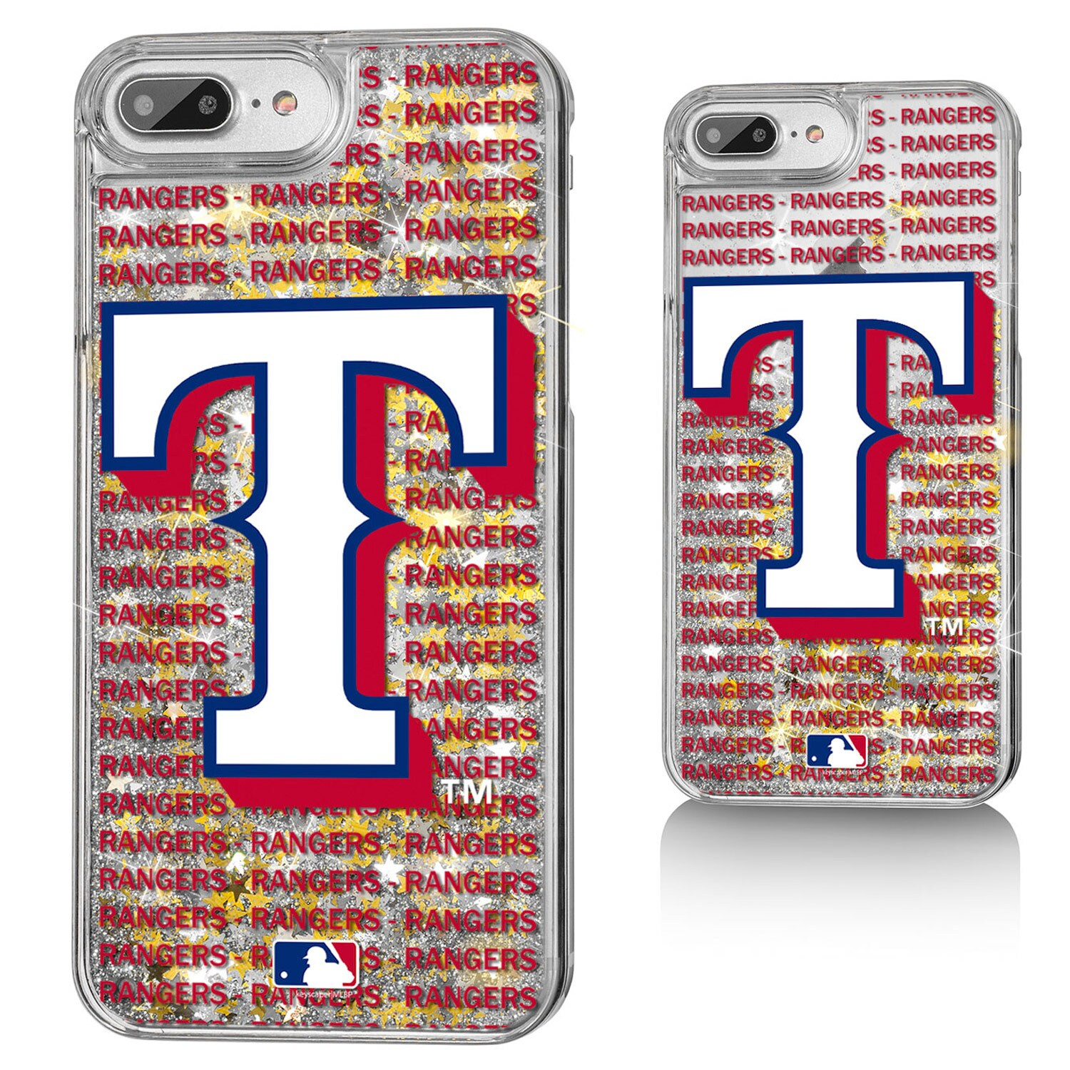 Texas Rangers iPhone Text Backdrop Design Case