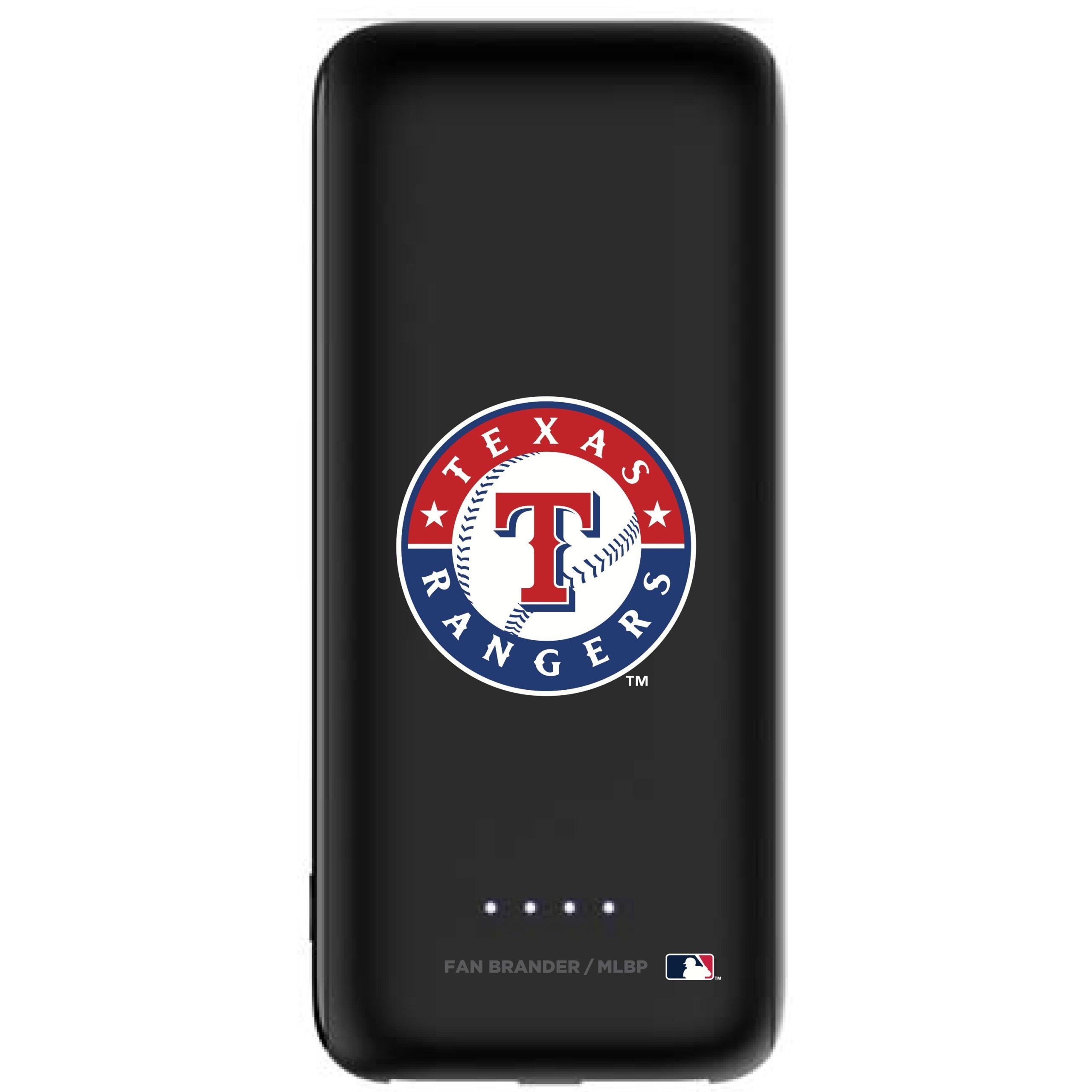 Texas Rangers mophie 5200 mAh Universal Battery Power Boost